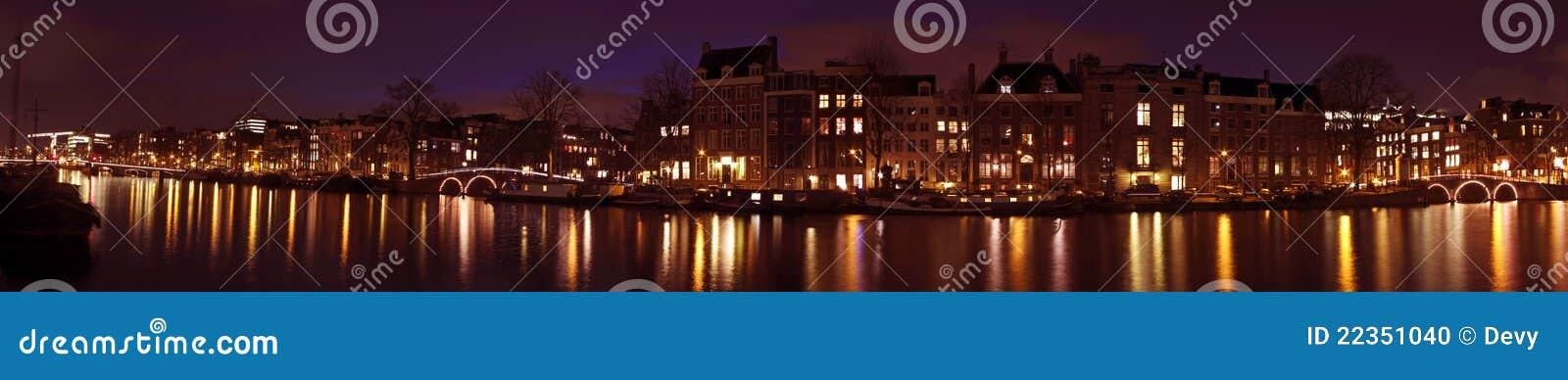 从阿姆斯特丹荷兰的全景