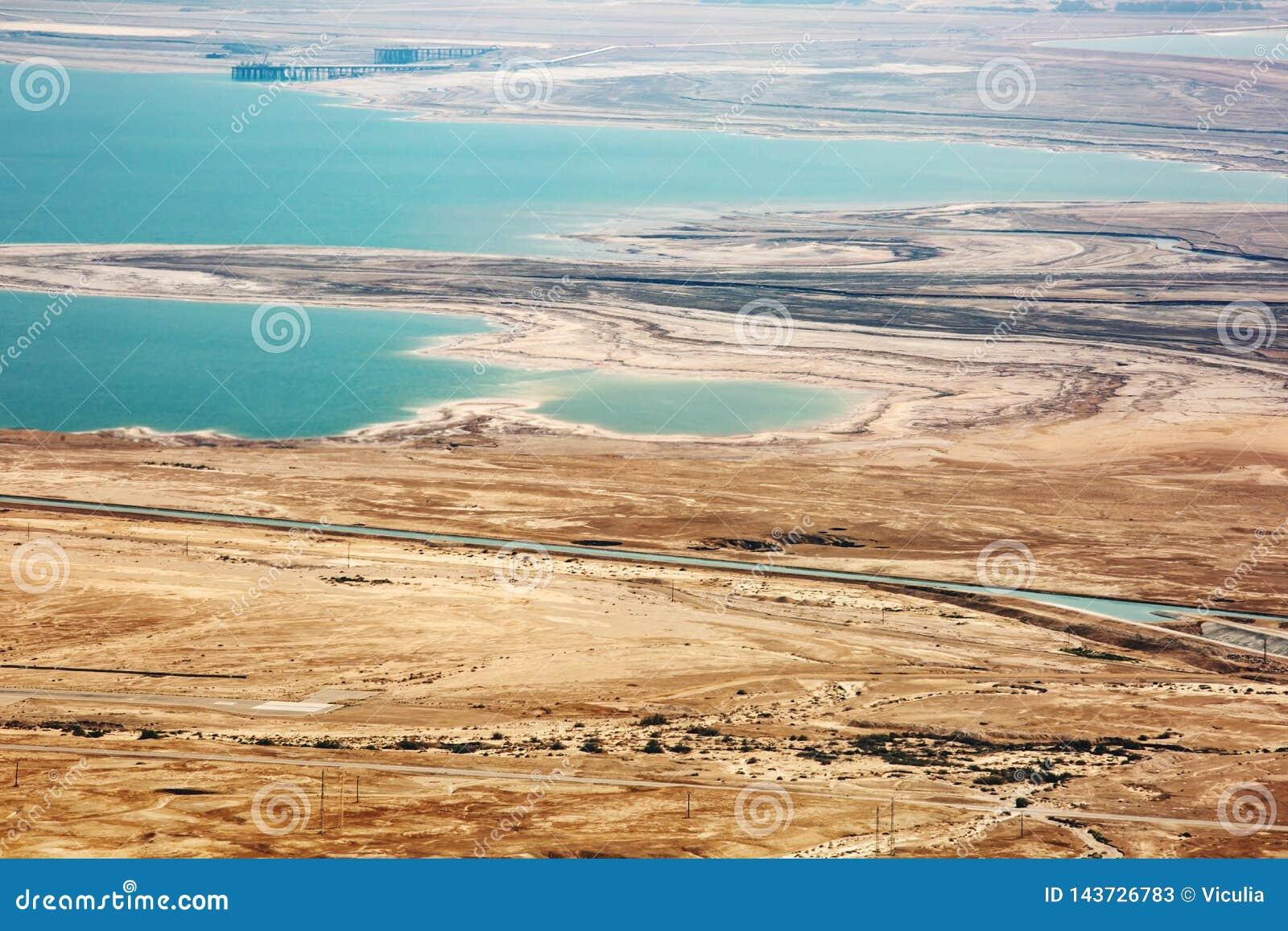 从马萨达的看法沙漠的在一好日子