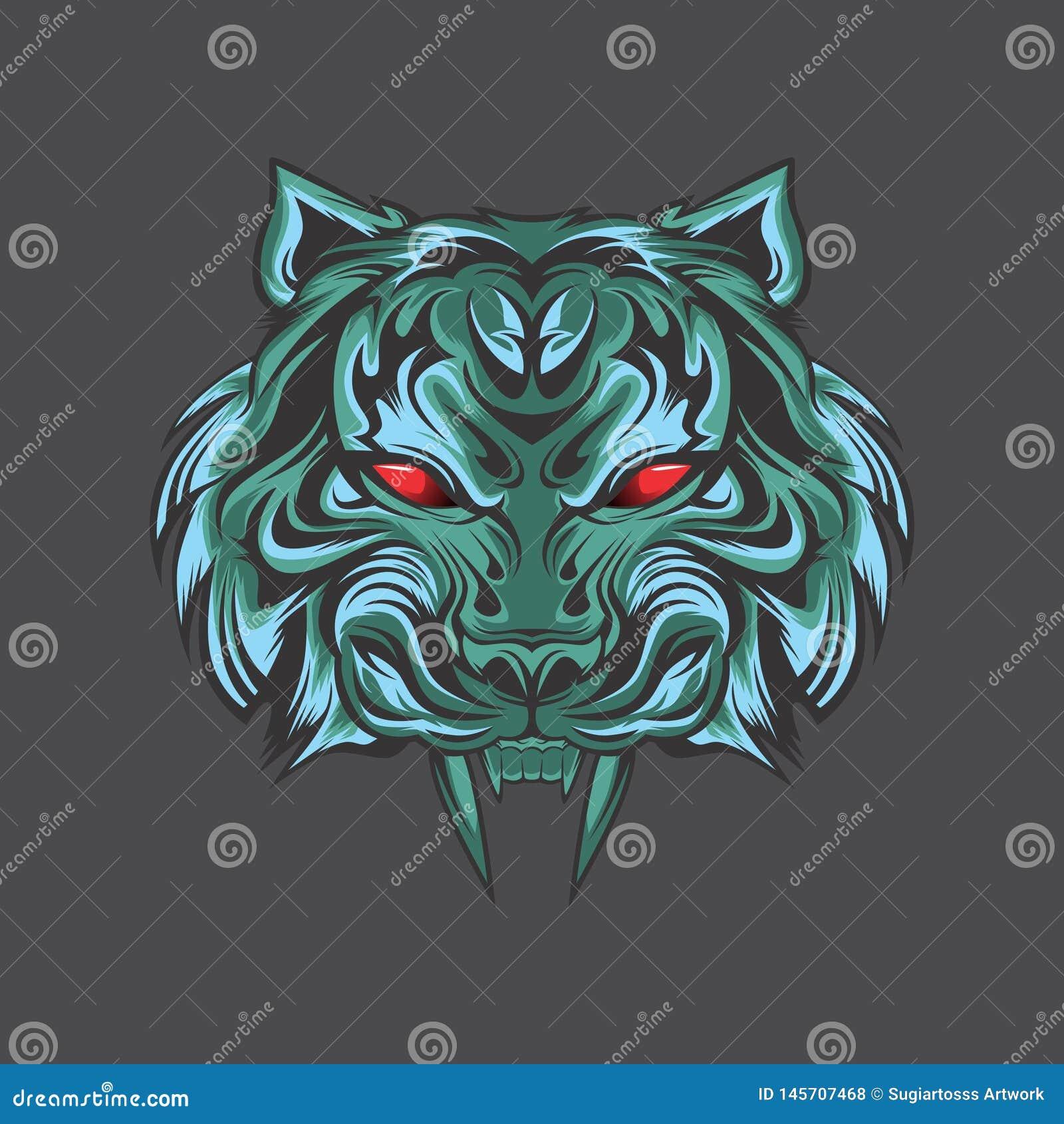 从darknes的蓝色老虎