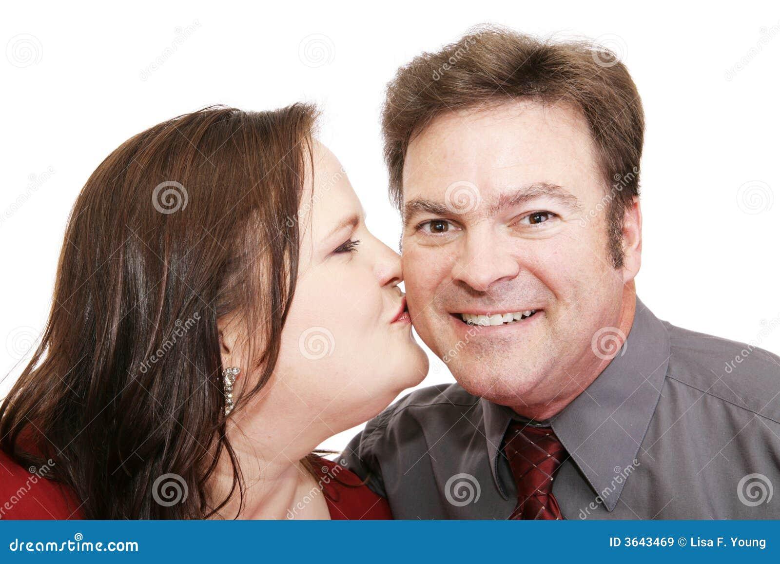 他浪漫的亲吻