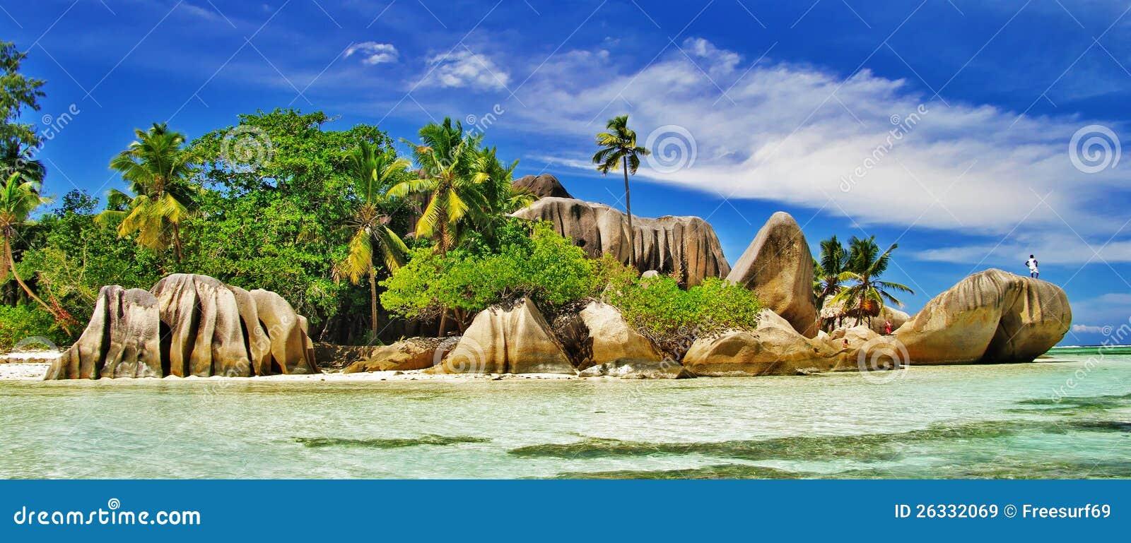 令人惊讶的塞舌尔群岛, La digue