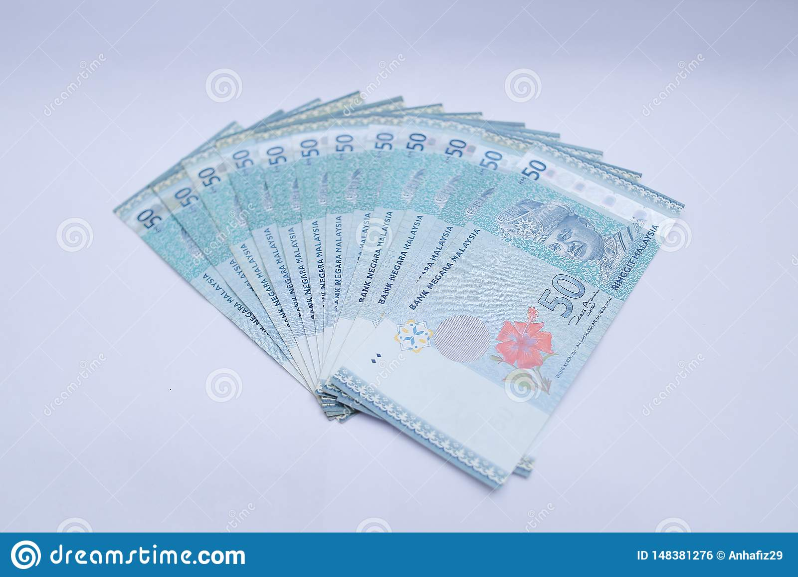 50令吉金钱笔记