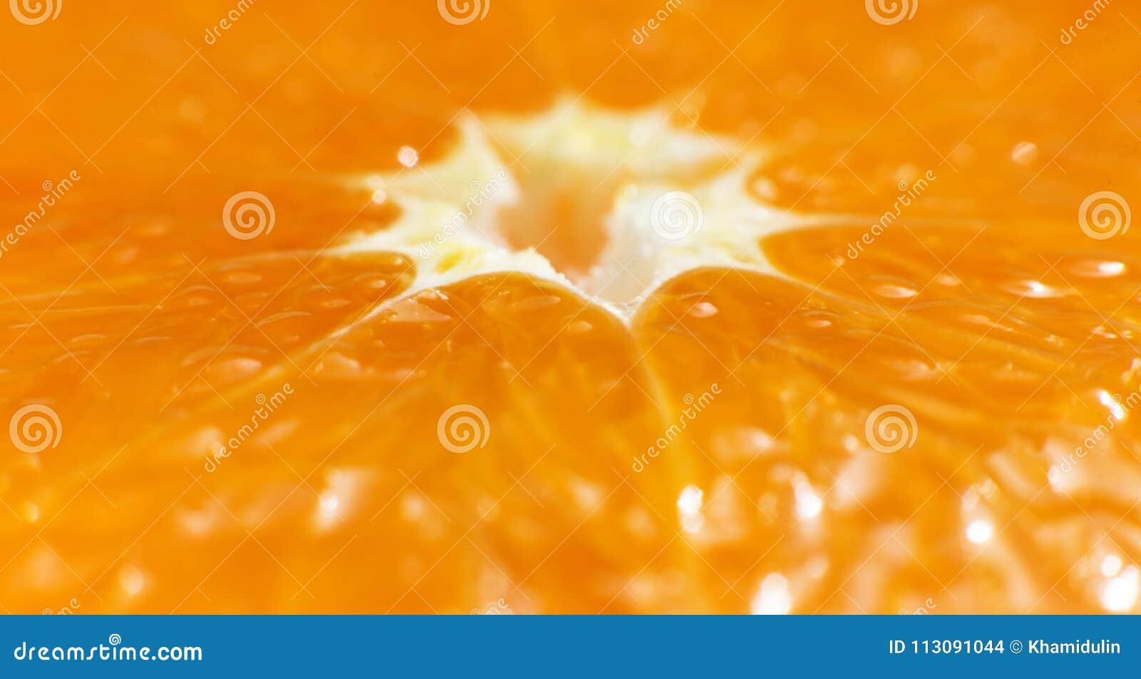 以桔子的一张宏观照片的形式纹理