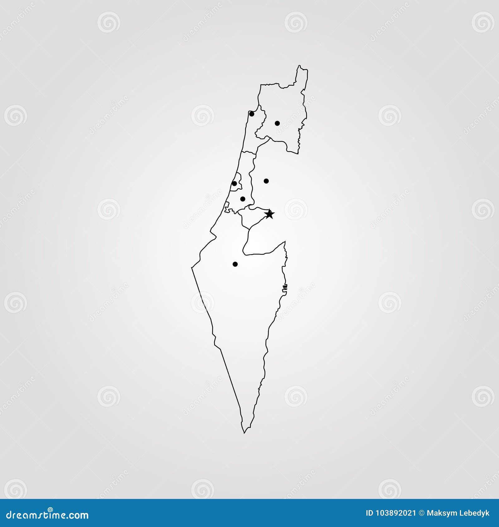 以色列映射
