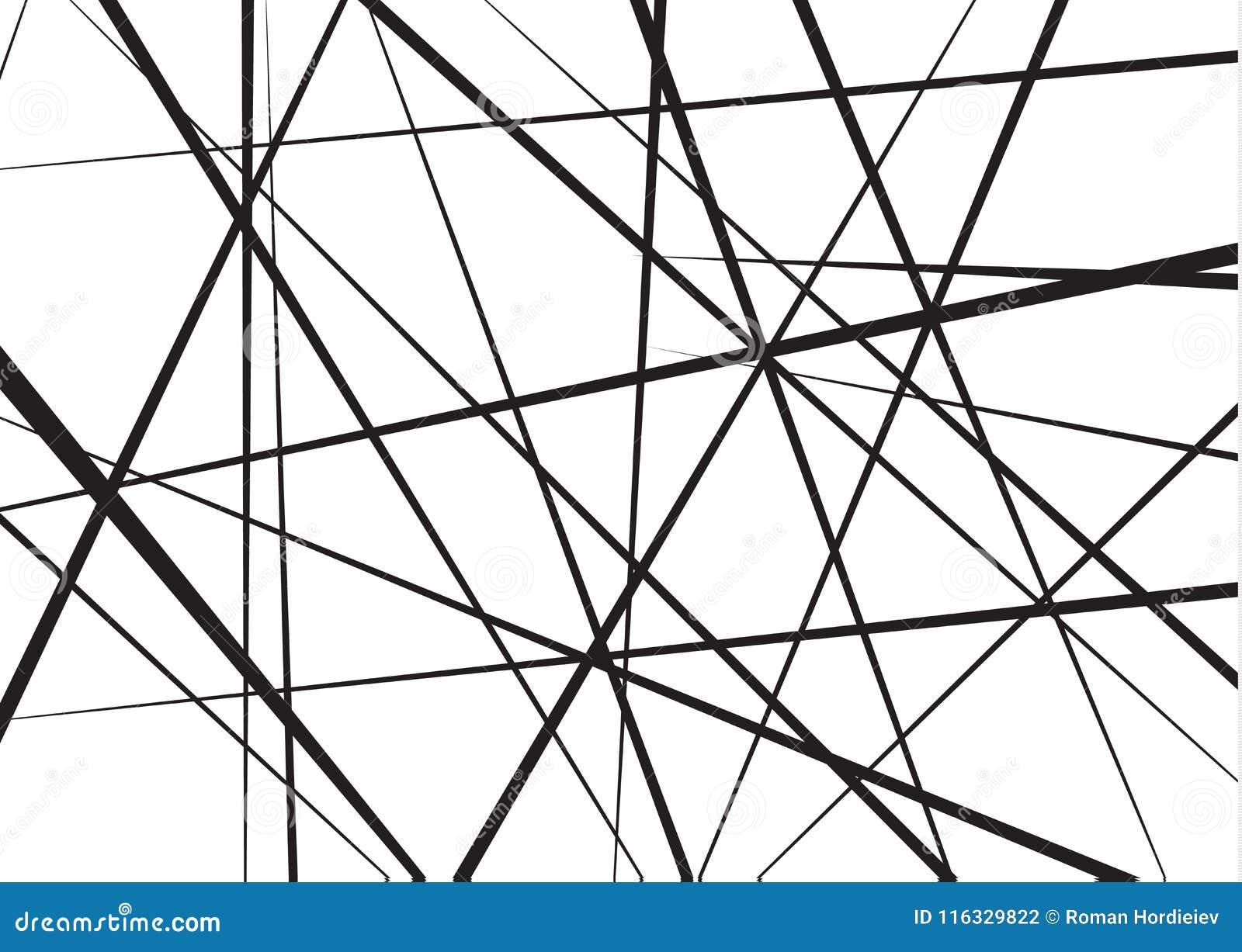 任意混乱线摘要几何样式 向量背景 能用于盖子设计,书设计,海报
