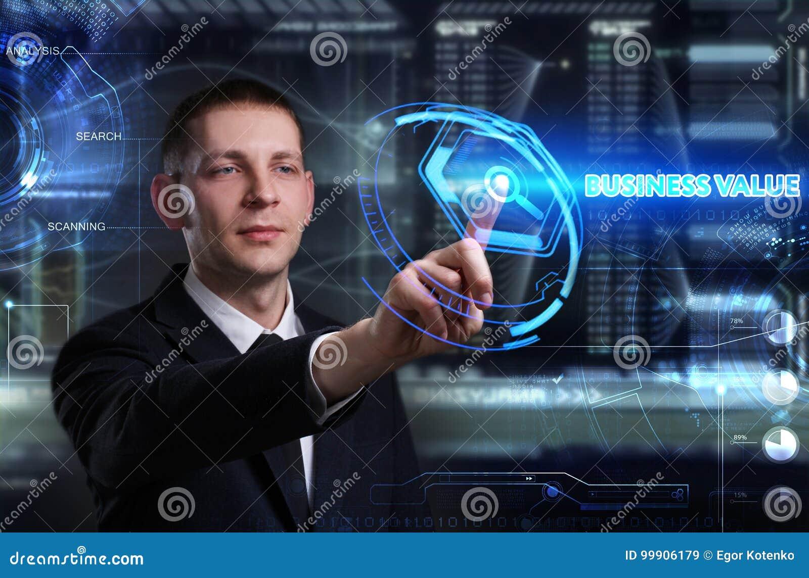 企业、技术、互联网和网络概念 年轻busine