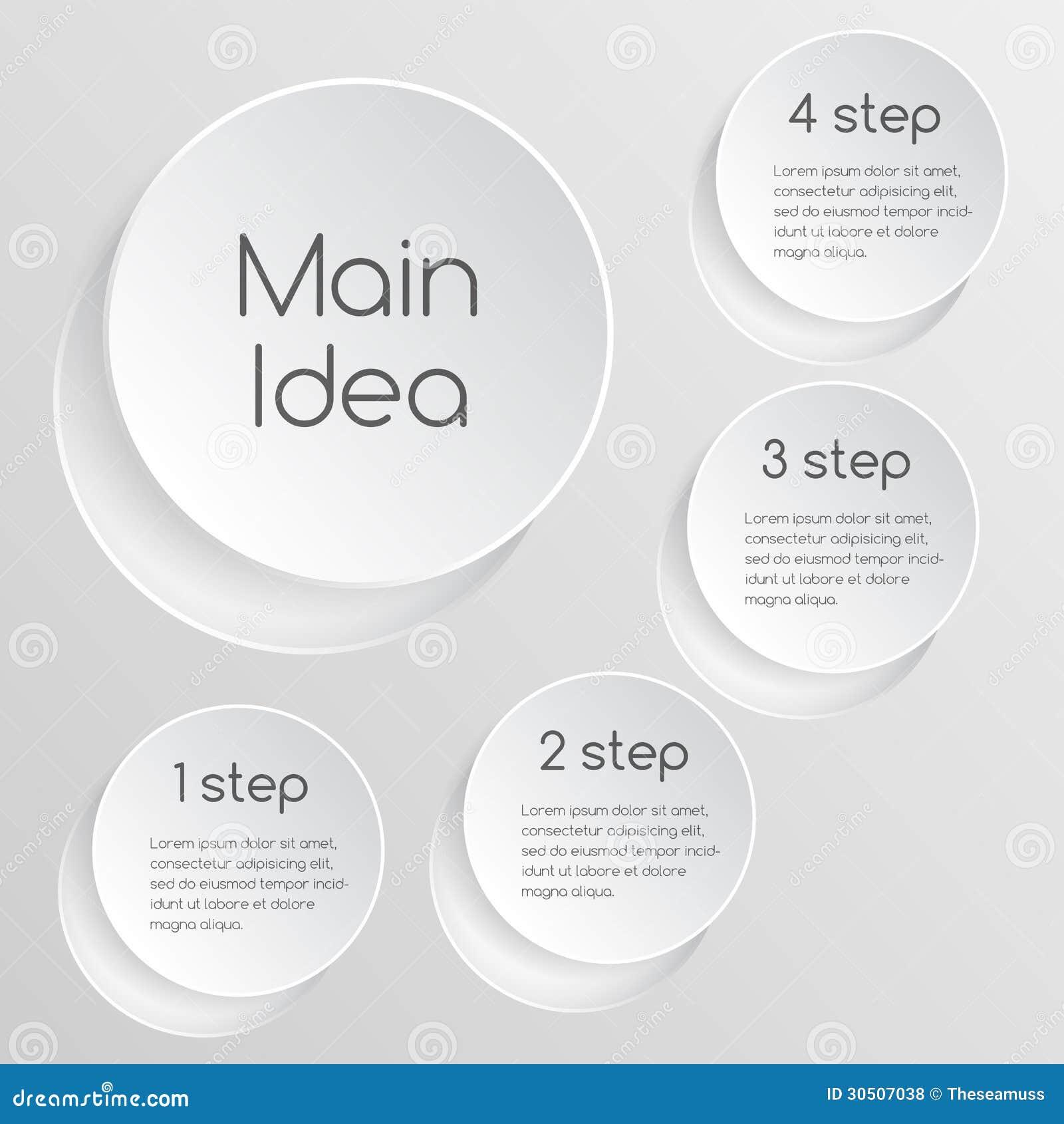 企业与正文的项目模板