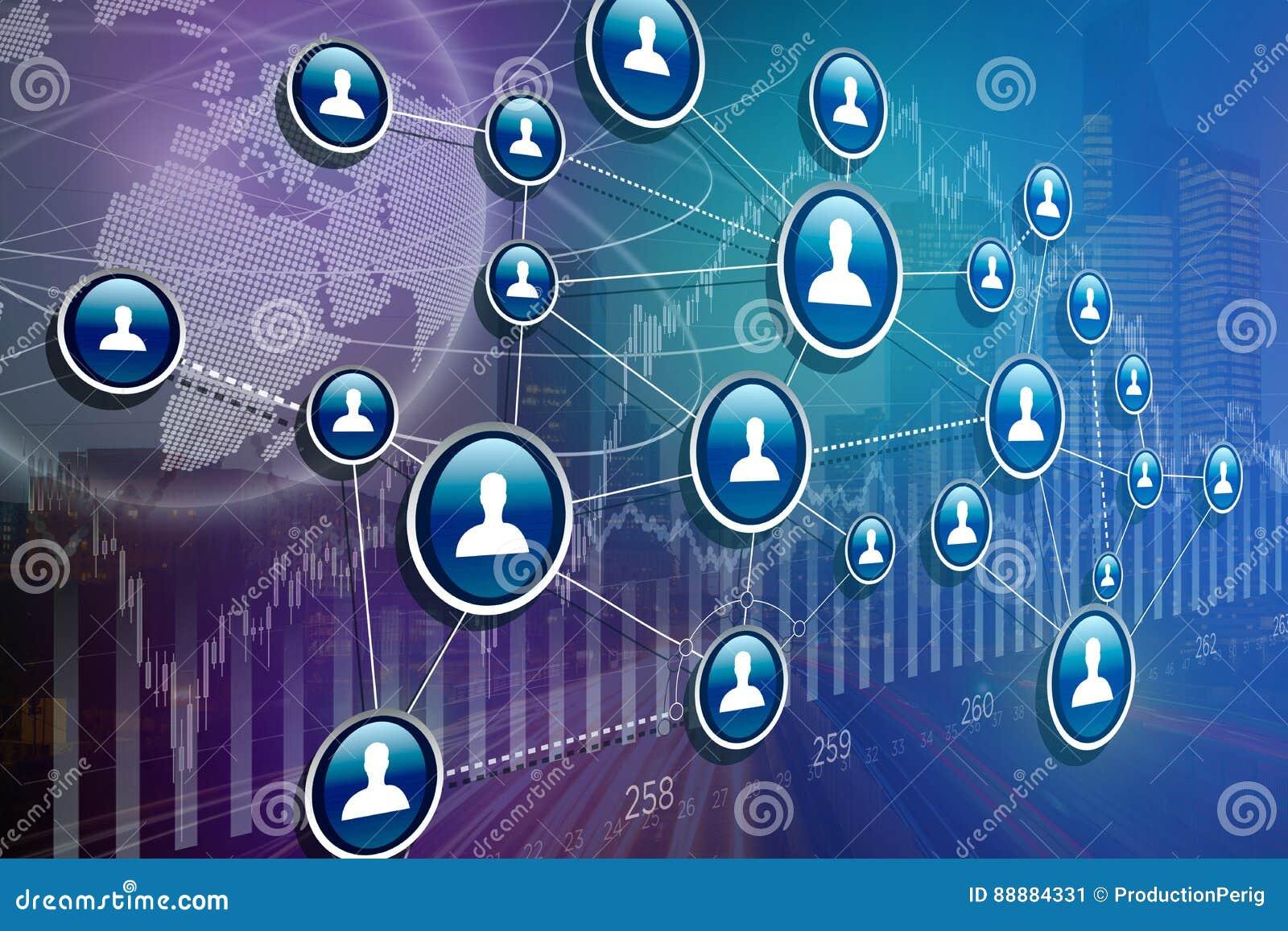 企业与财务的国际网络接口的概念