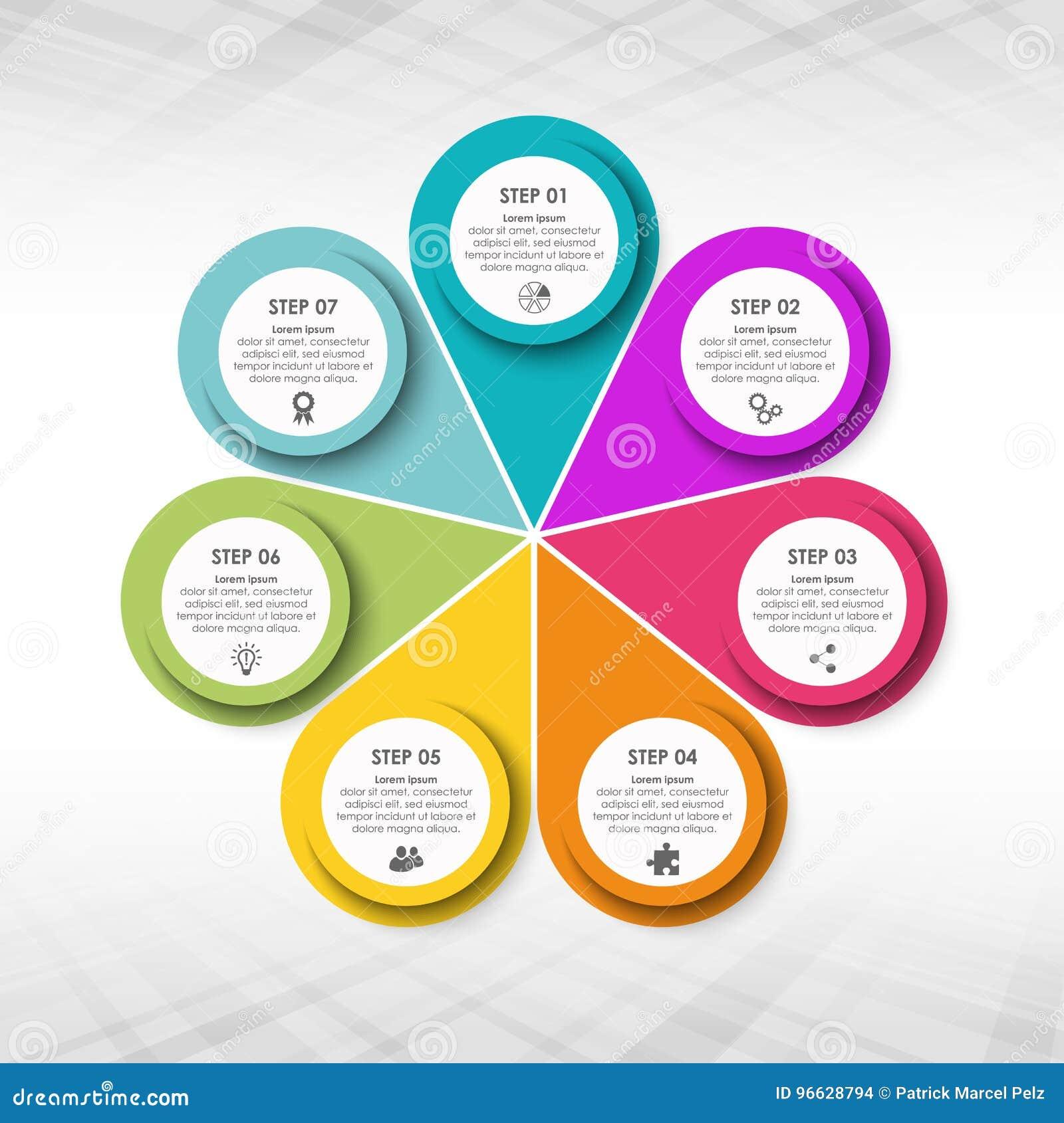 企业信息图表模板
