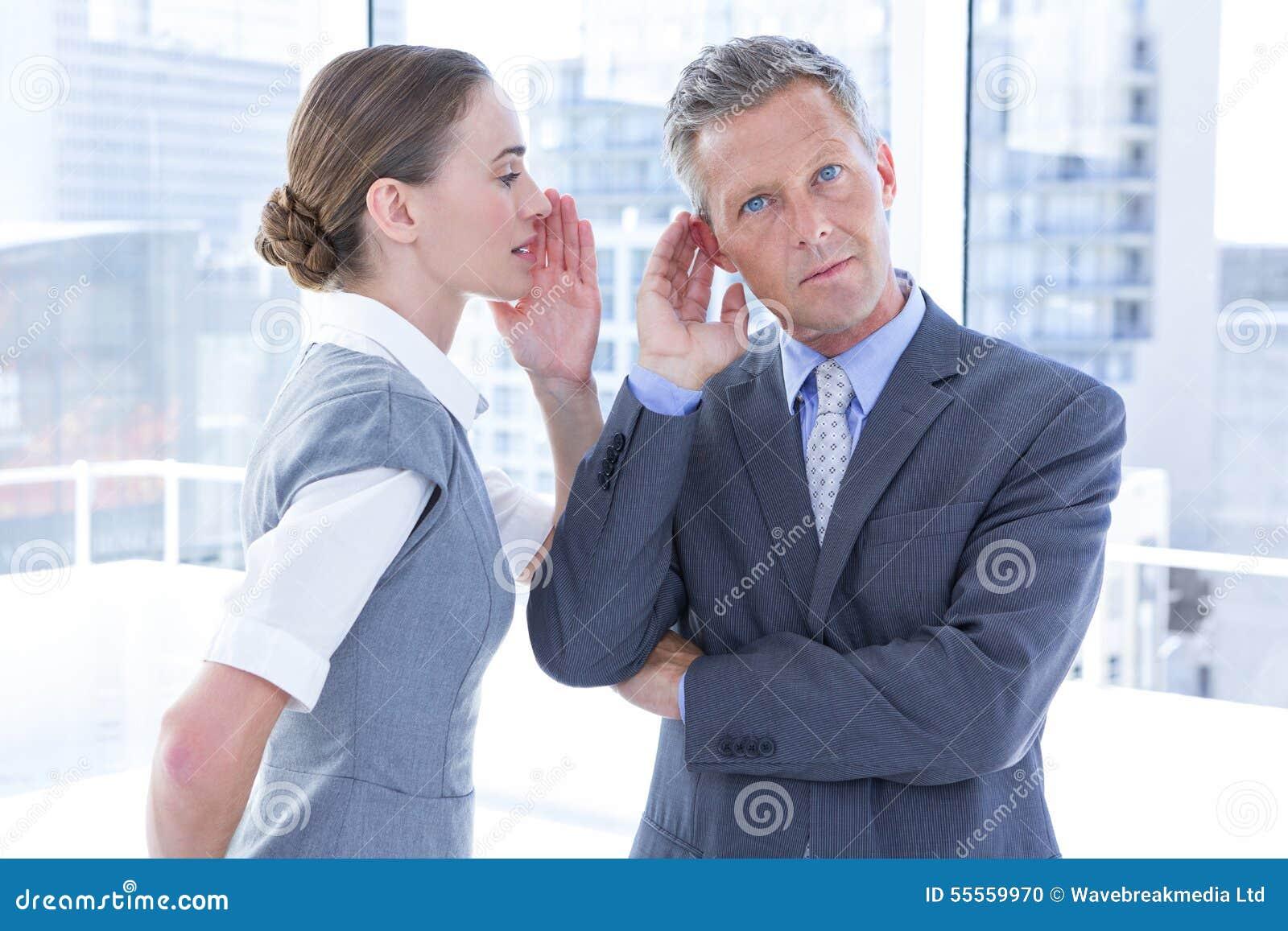 企业同事耳语