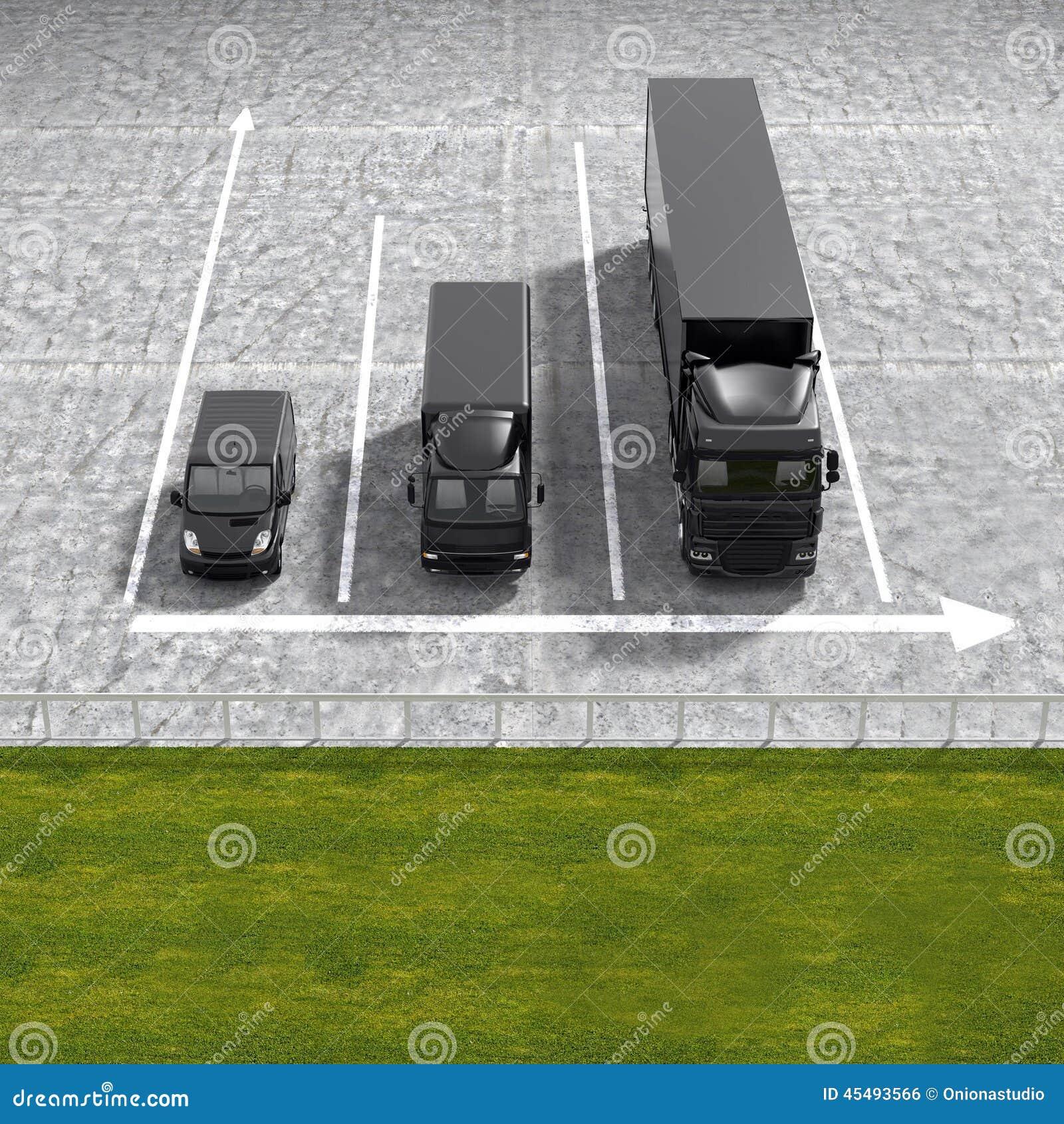 企业后勤运输黑色服务注标illustrati