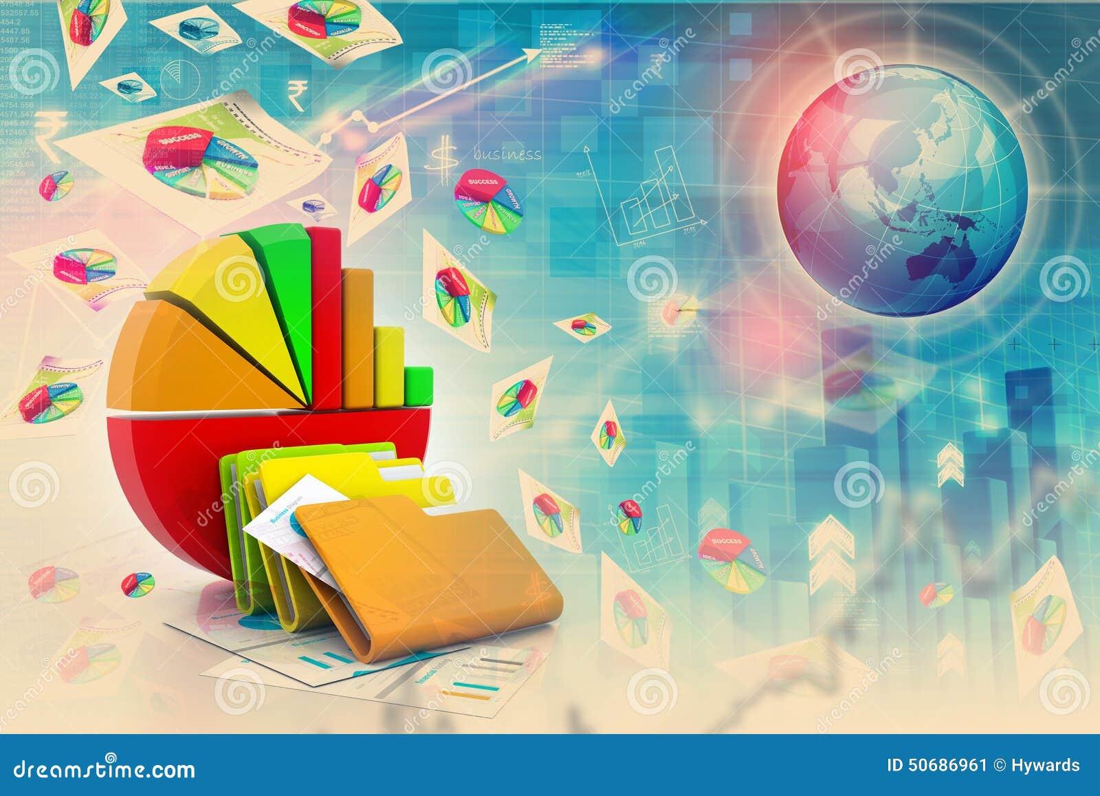Download 企业图表图形 库存例证. 插画 包括有 经济, 管理, 投资, 收入, 胡言乱语的, 网络连接, 商务, 绘制 - 50686961