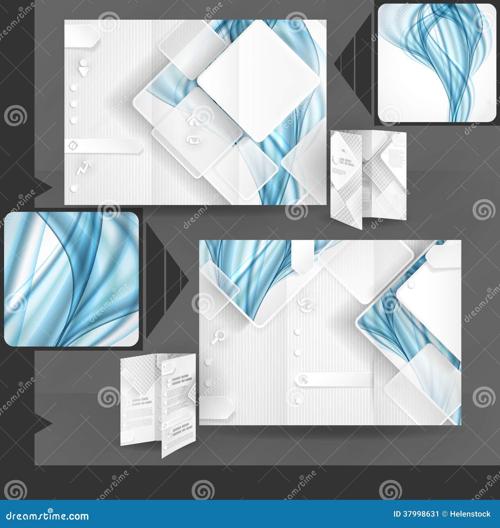企业小册子模板设计图片