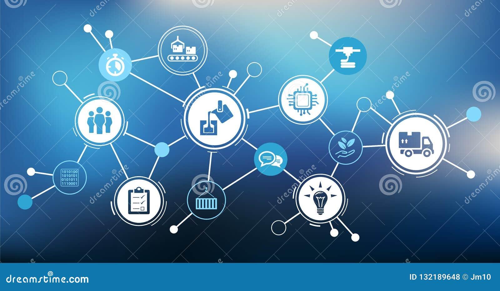 企业挑战设计-创新/发展/战略-传染媒介例证