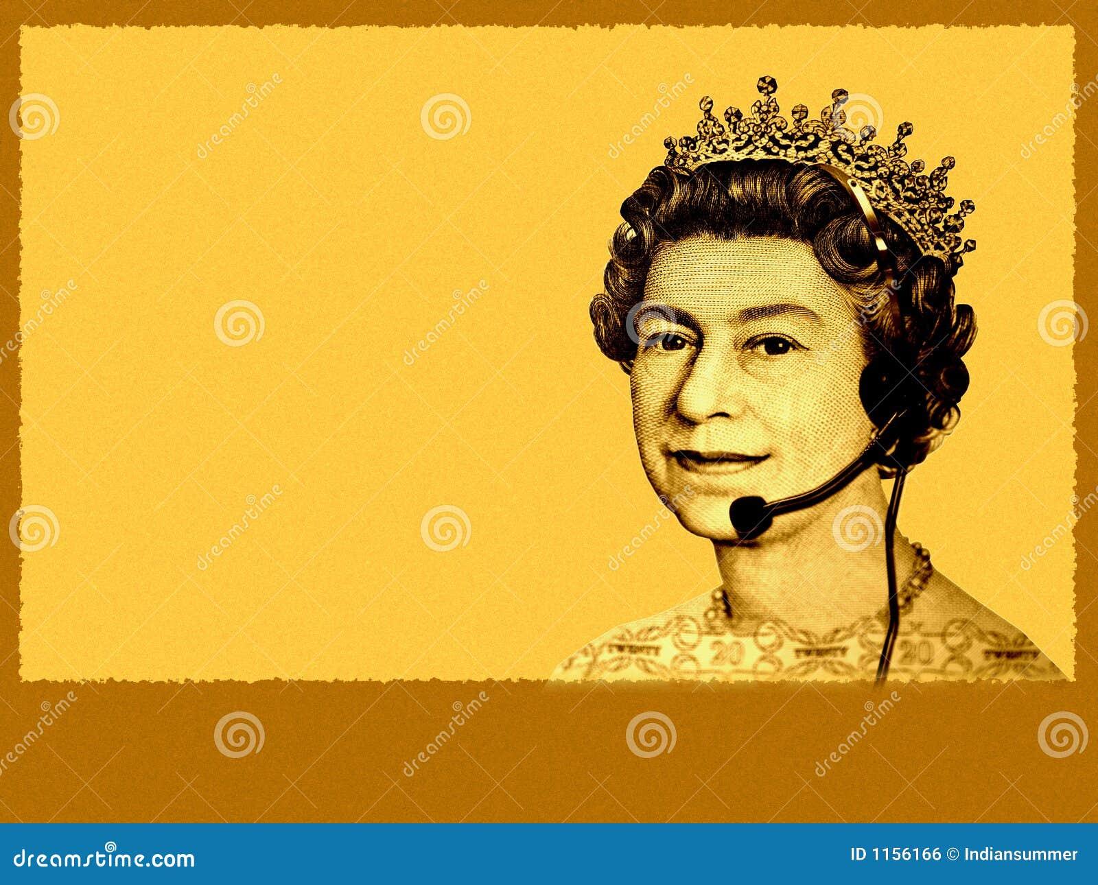 企业概念性货币客户英国顶头耳机女&#