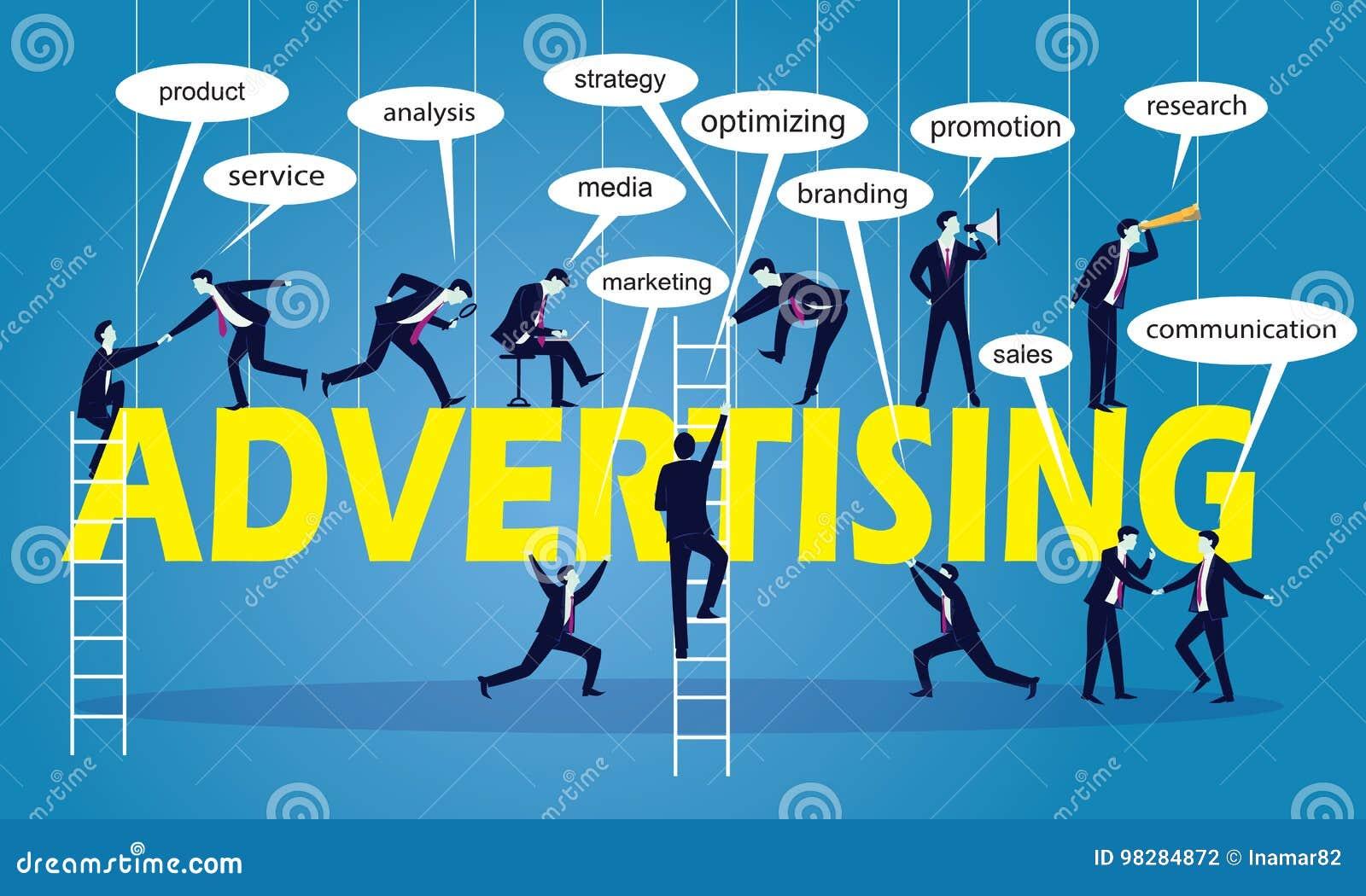 企业营销配合广告概念