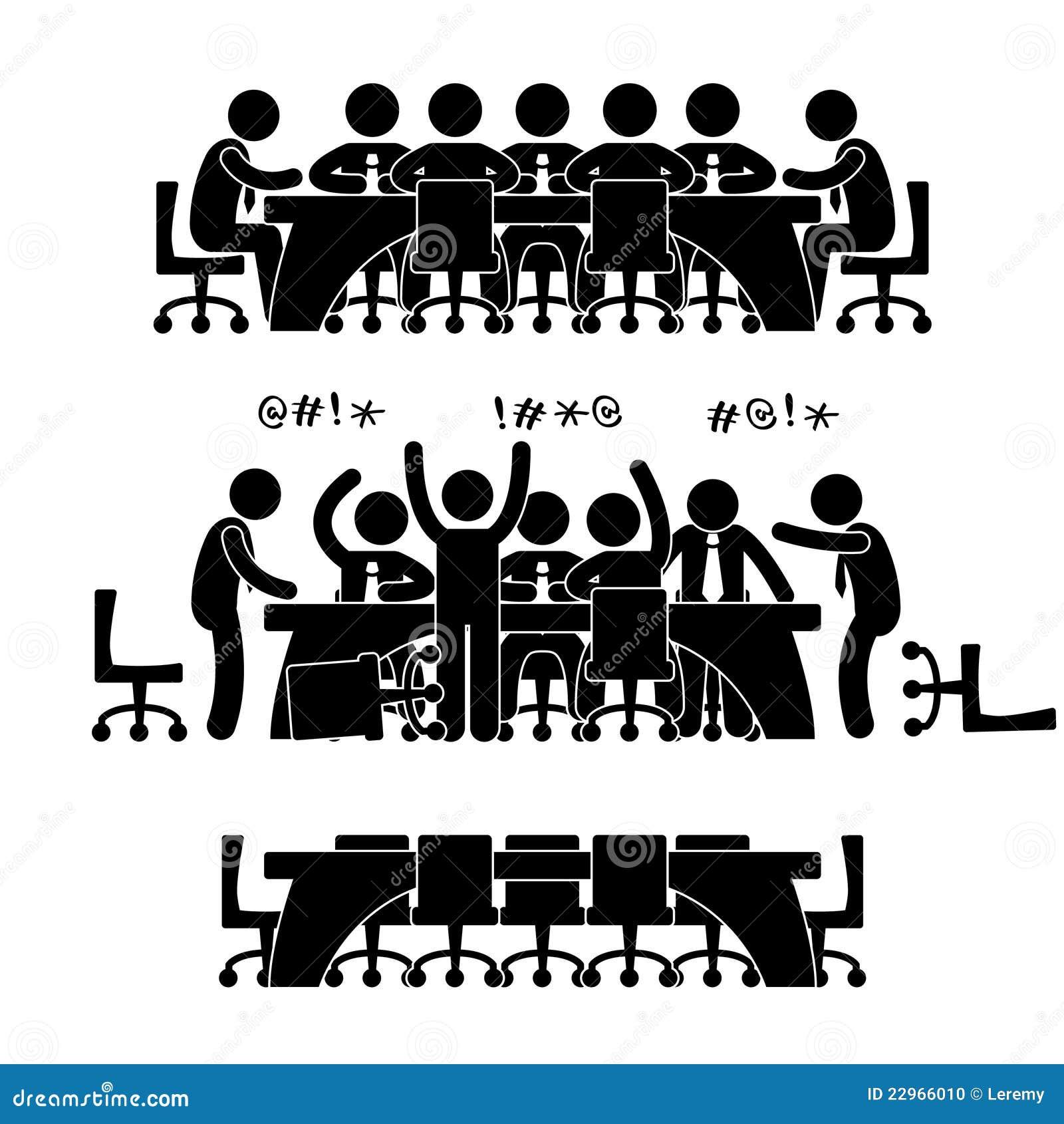 企业论述图标会议