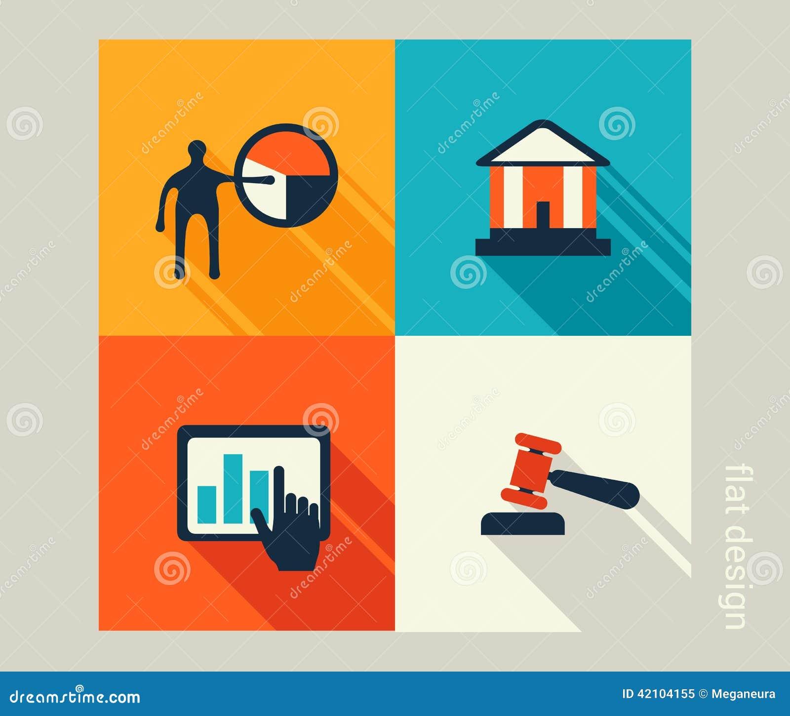 企业象集合 软件和网发展,营销, e co
