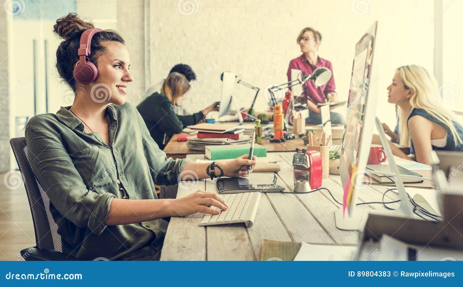 企业队激发灵感工作区概念