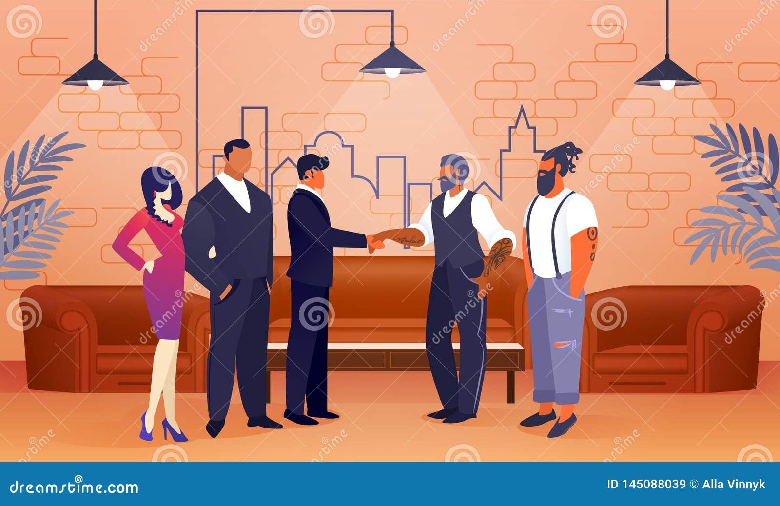 企业项目协议在现代办公室地区