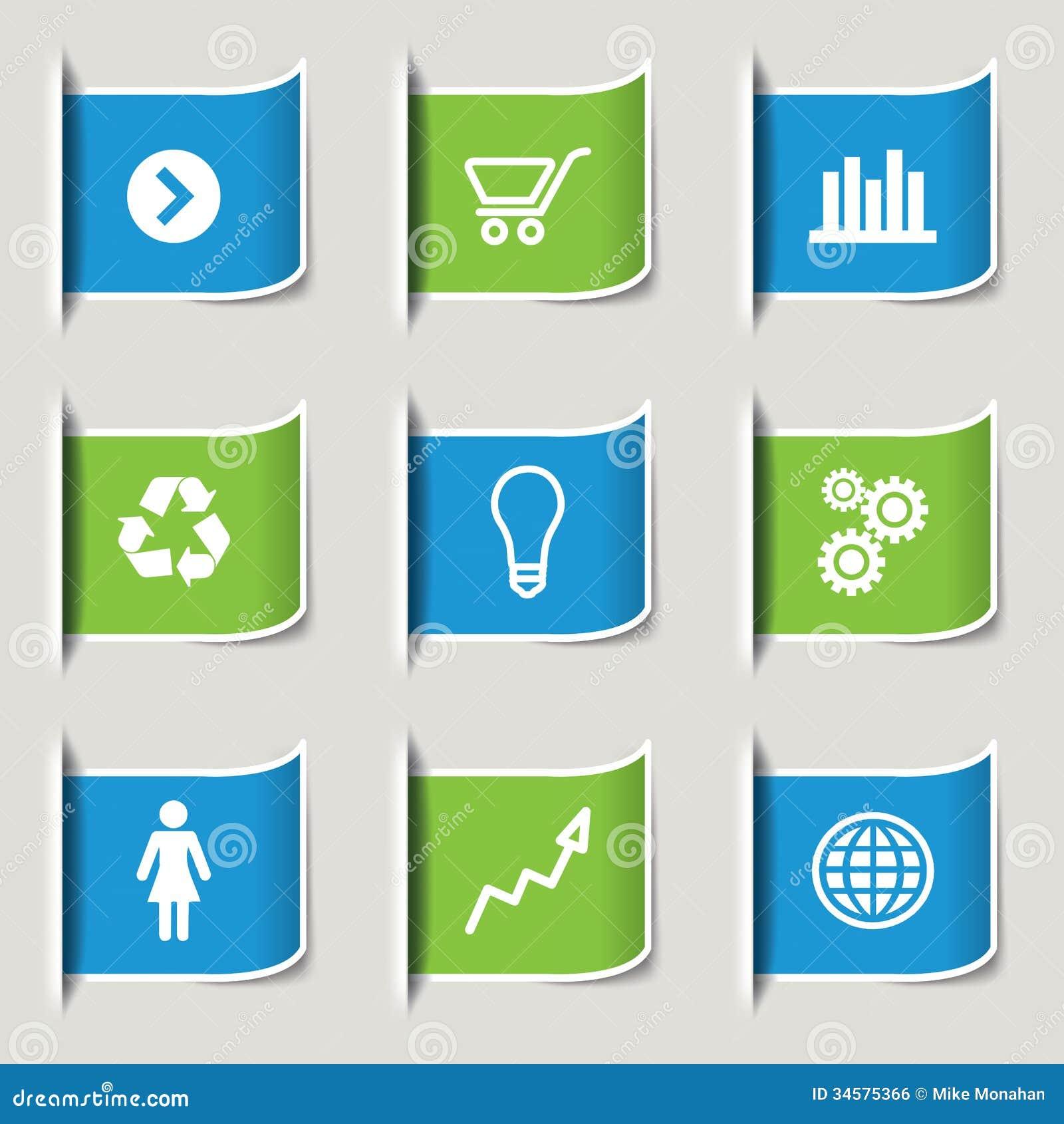 企业infographic象