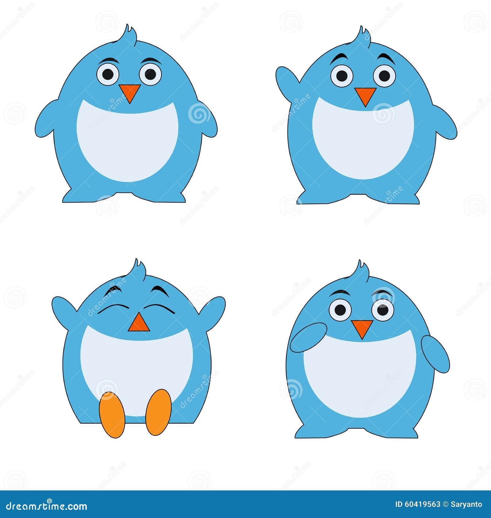 企鹅动画片字符集