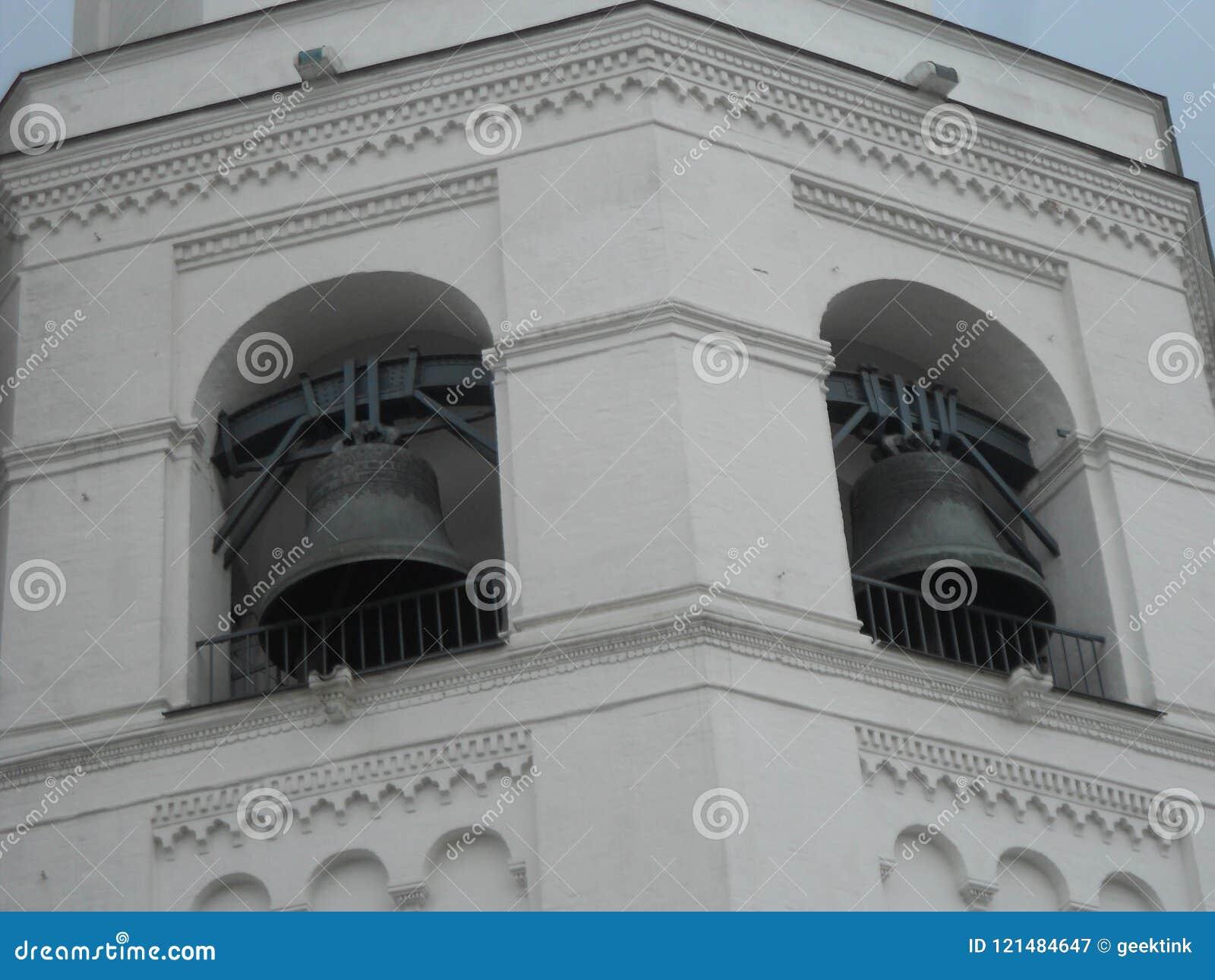 伊冯伟大的钟楼在克里姆林宫