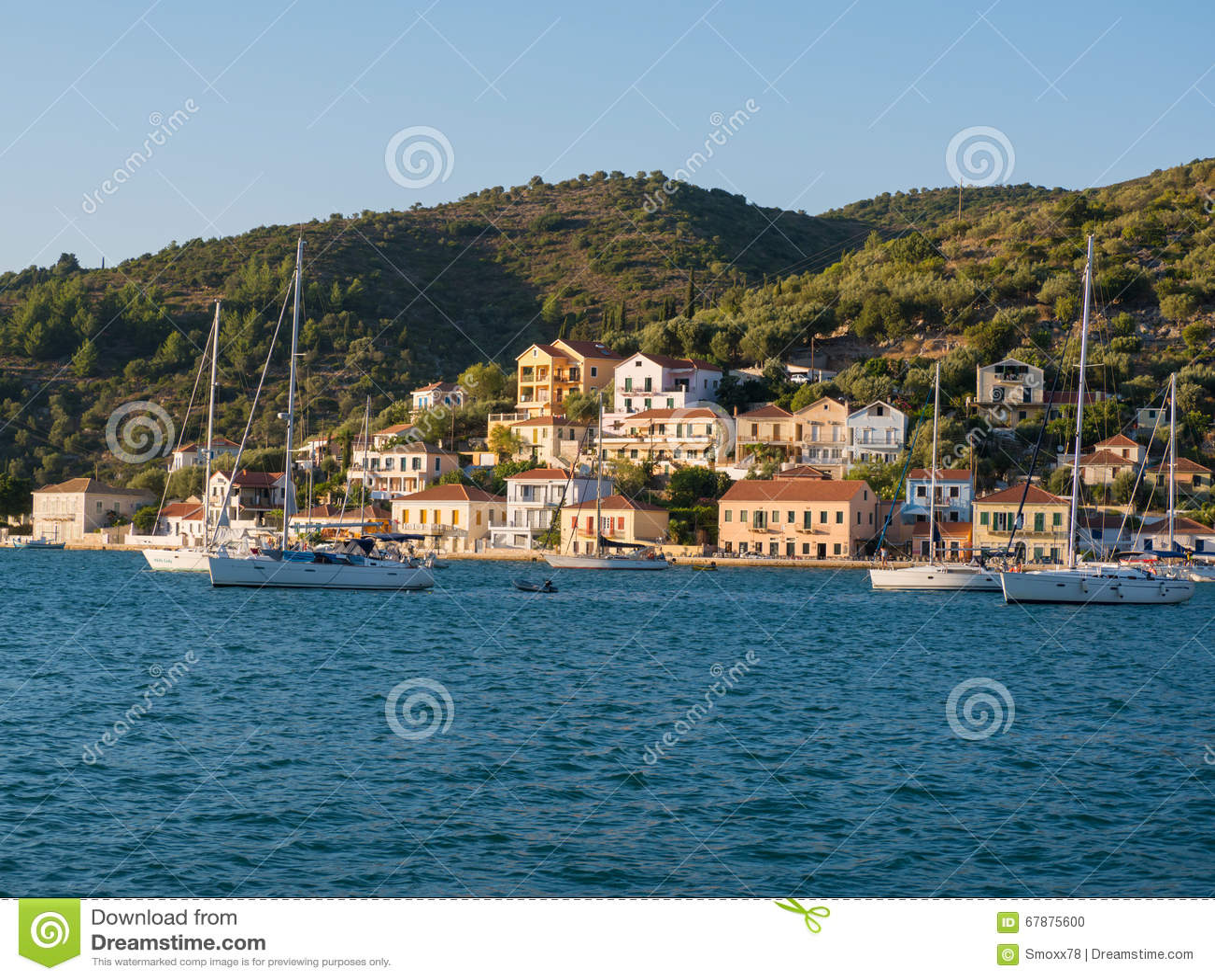 伊塔卡海岛在希腊