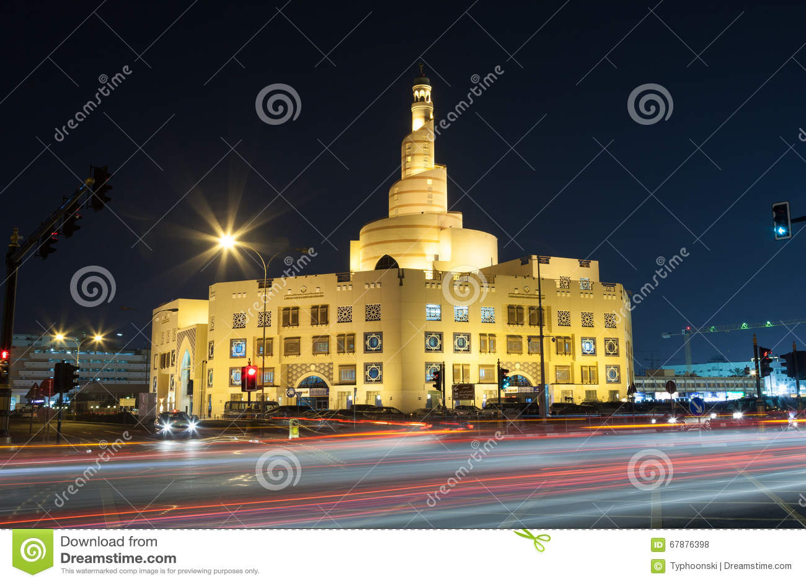 伊斯兰教的文化中心在多哈,卡塔尔