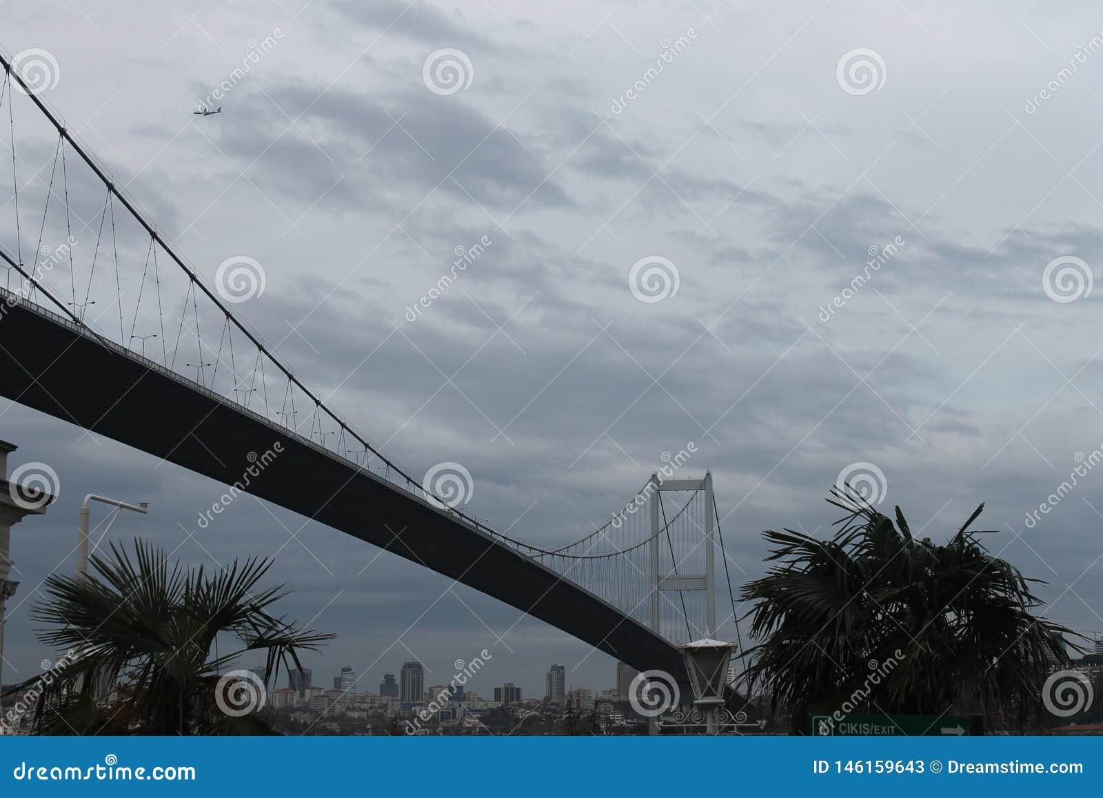 伊斯坦布尔-法提赫苏丹Mhmet桥梁