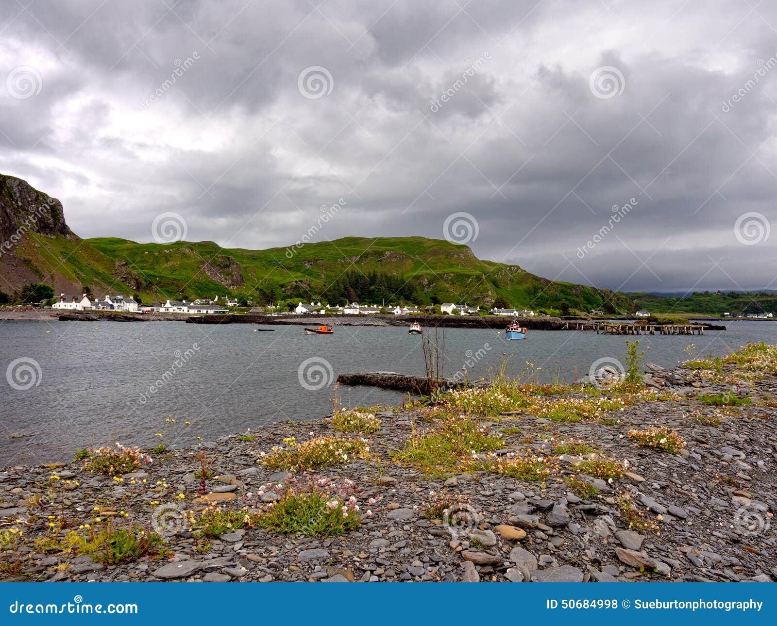 Download 伊斯代尔岛海岛海岸 库存照片. 图片 包括有 海岛, 猎物, 轮渡, 板岩, hebrides, 苏格兰 - 50684998