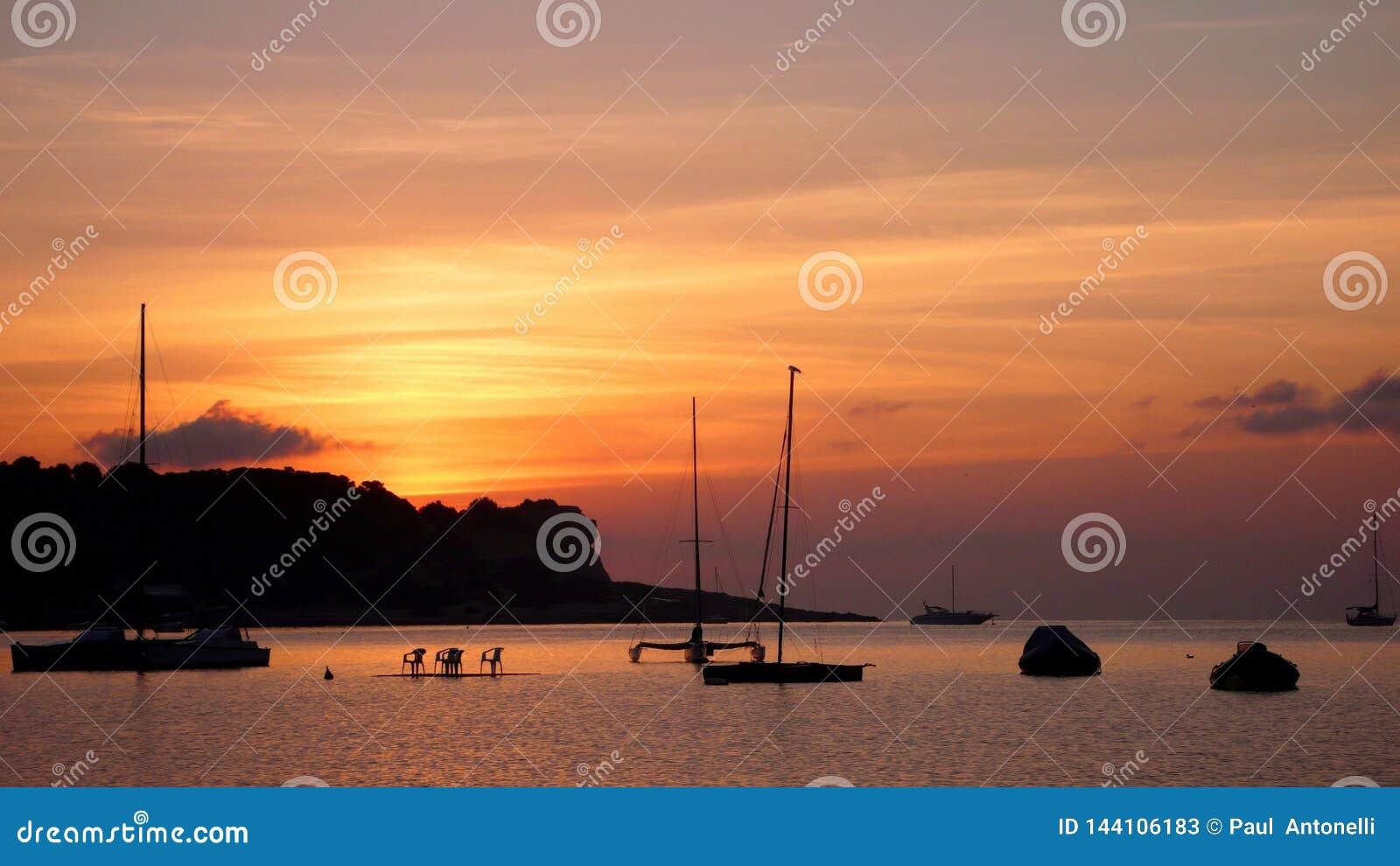 伊维萨岛日落2
