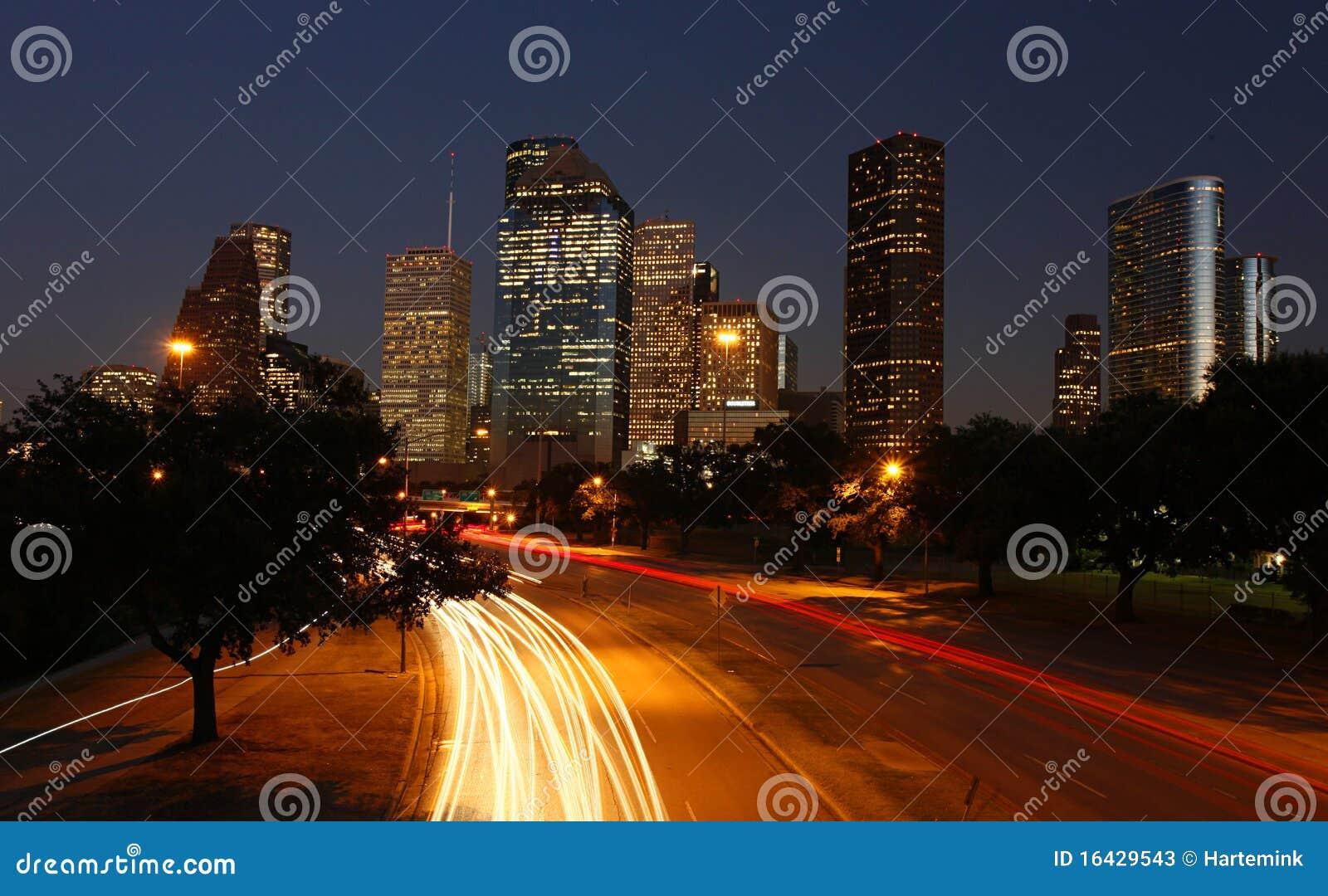 休斯敦晚上地平线