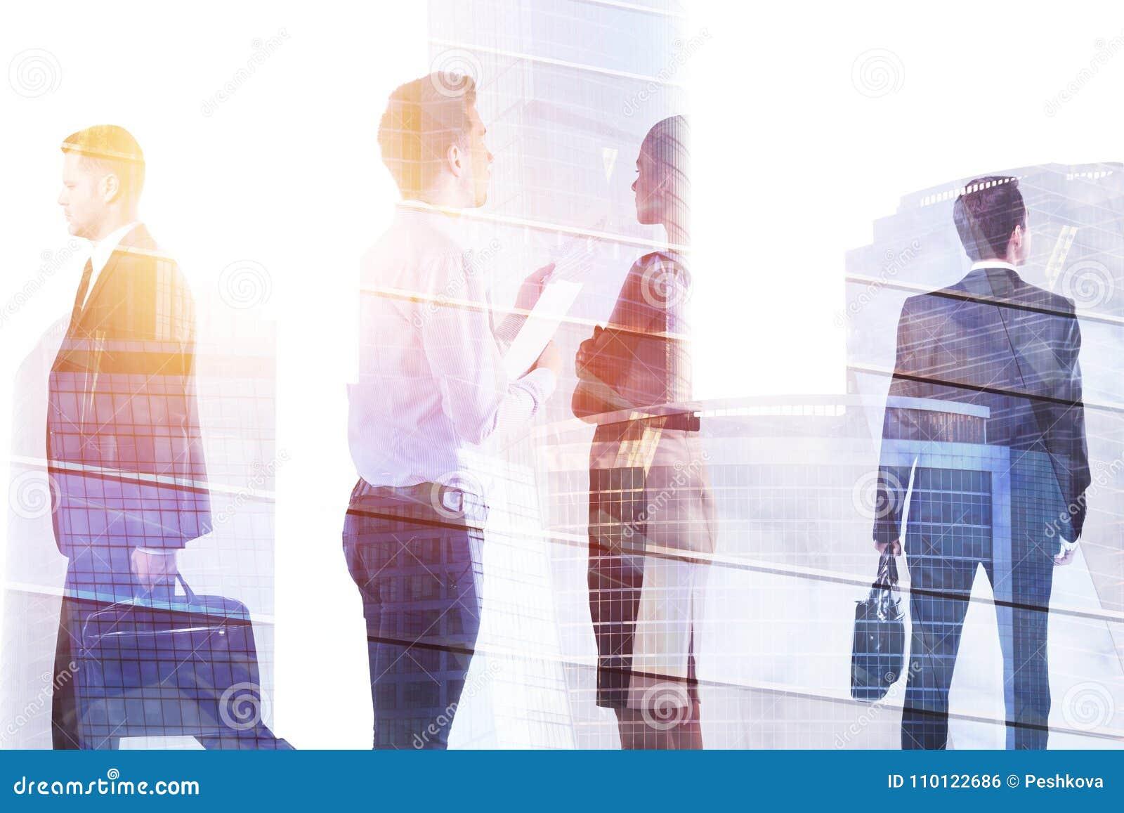 会议和人群概念