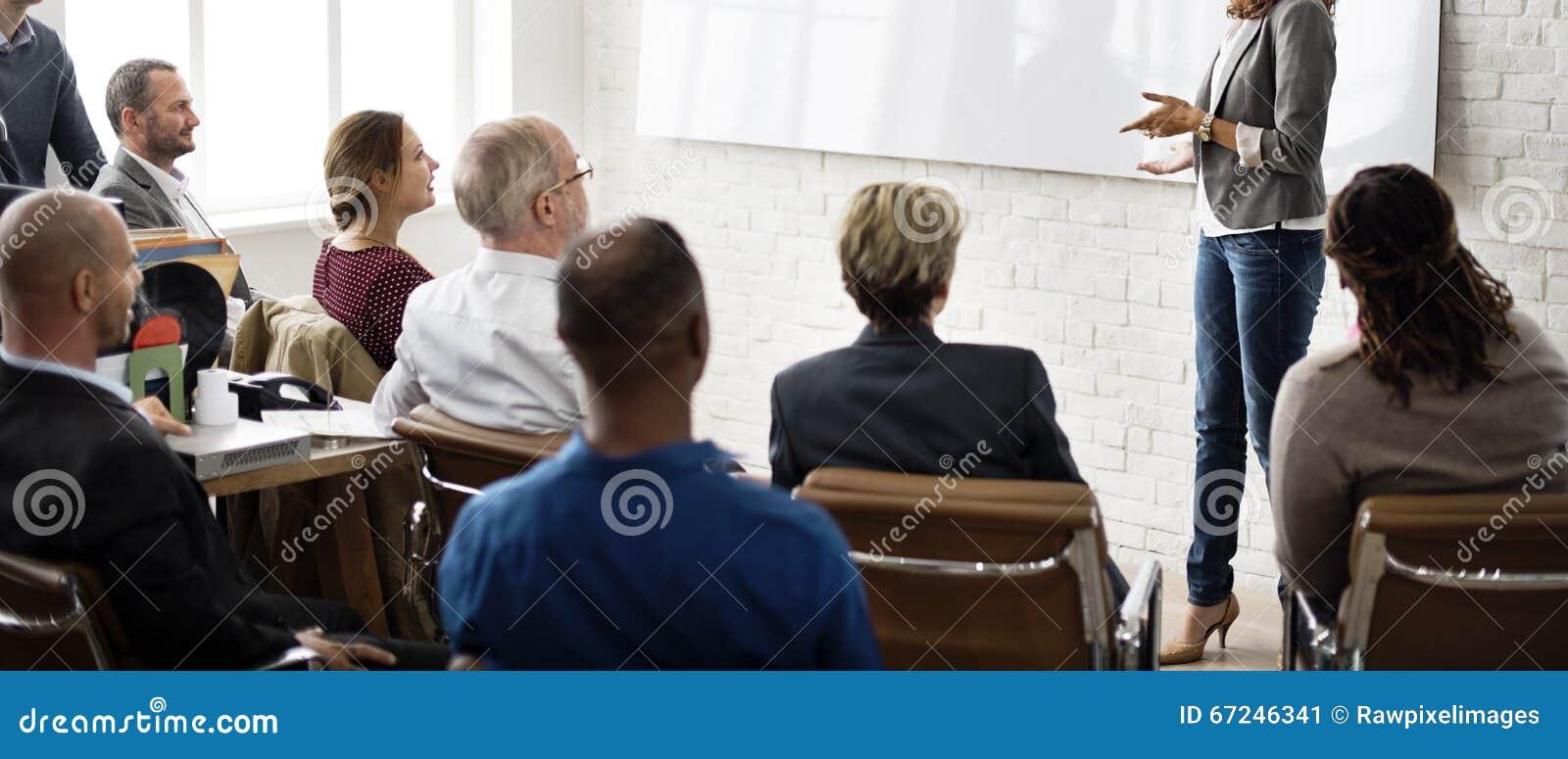 会议学会教练的企业概念的训练计划