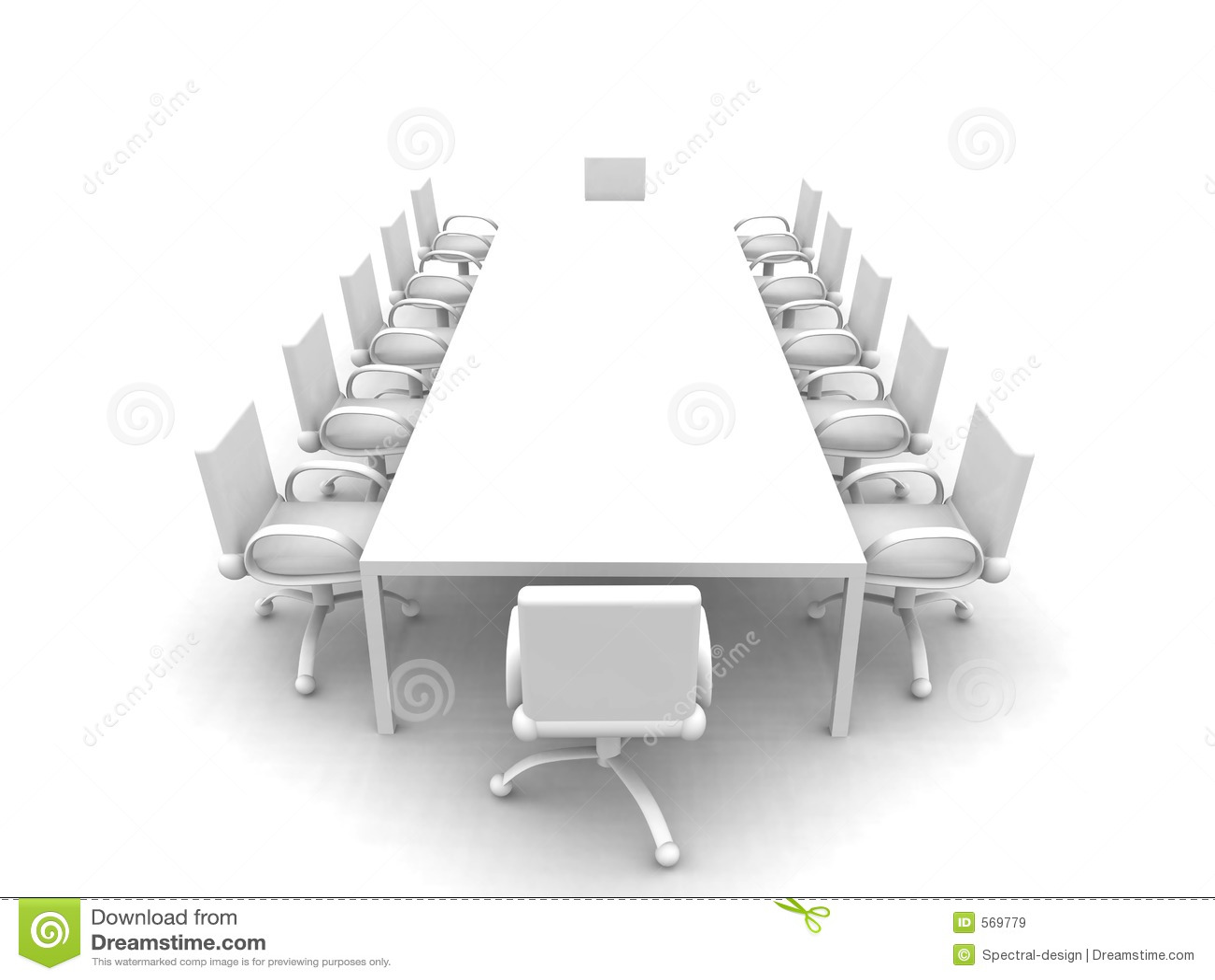 会议室白色