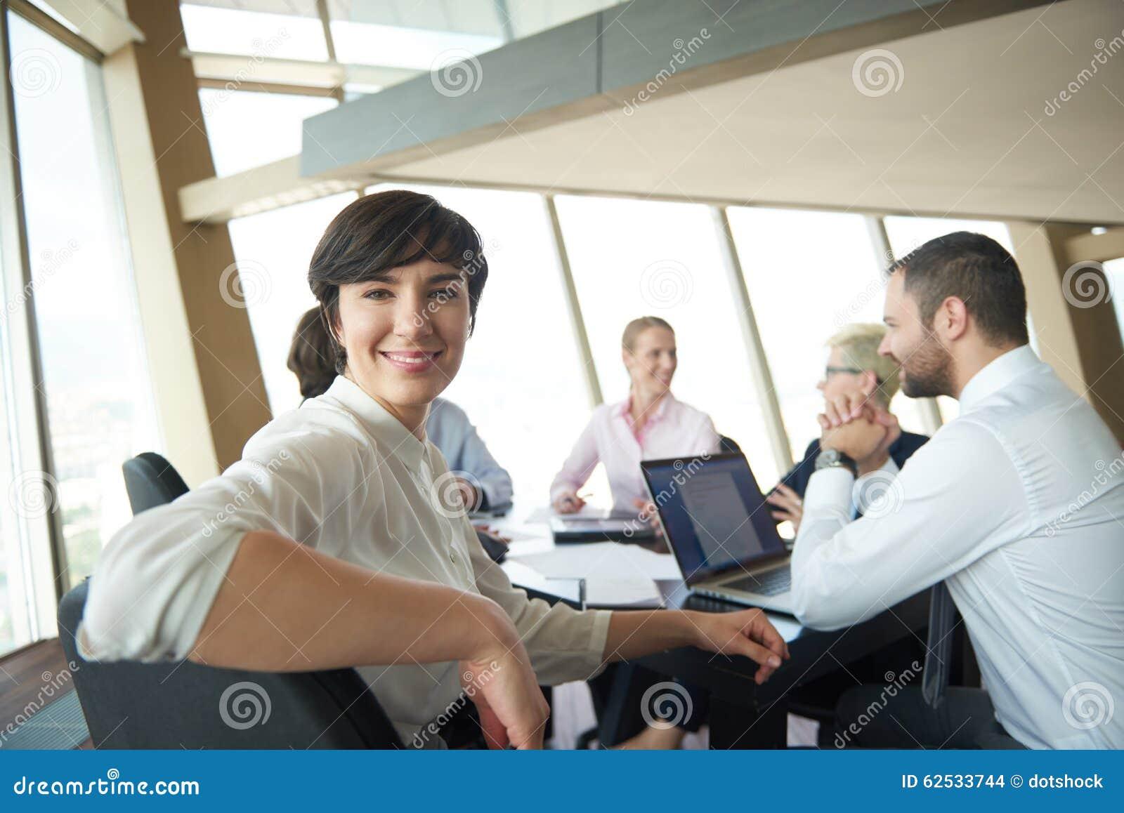 会议的女商人