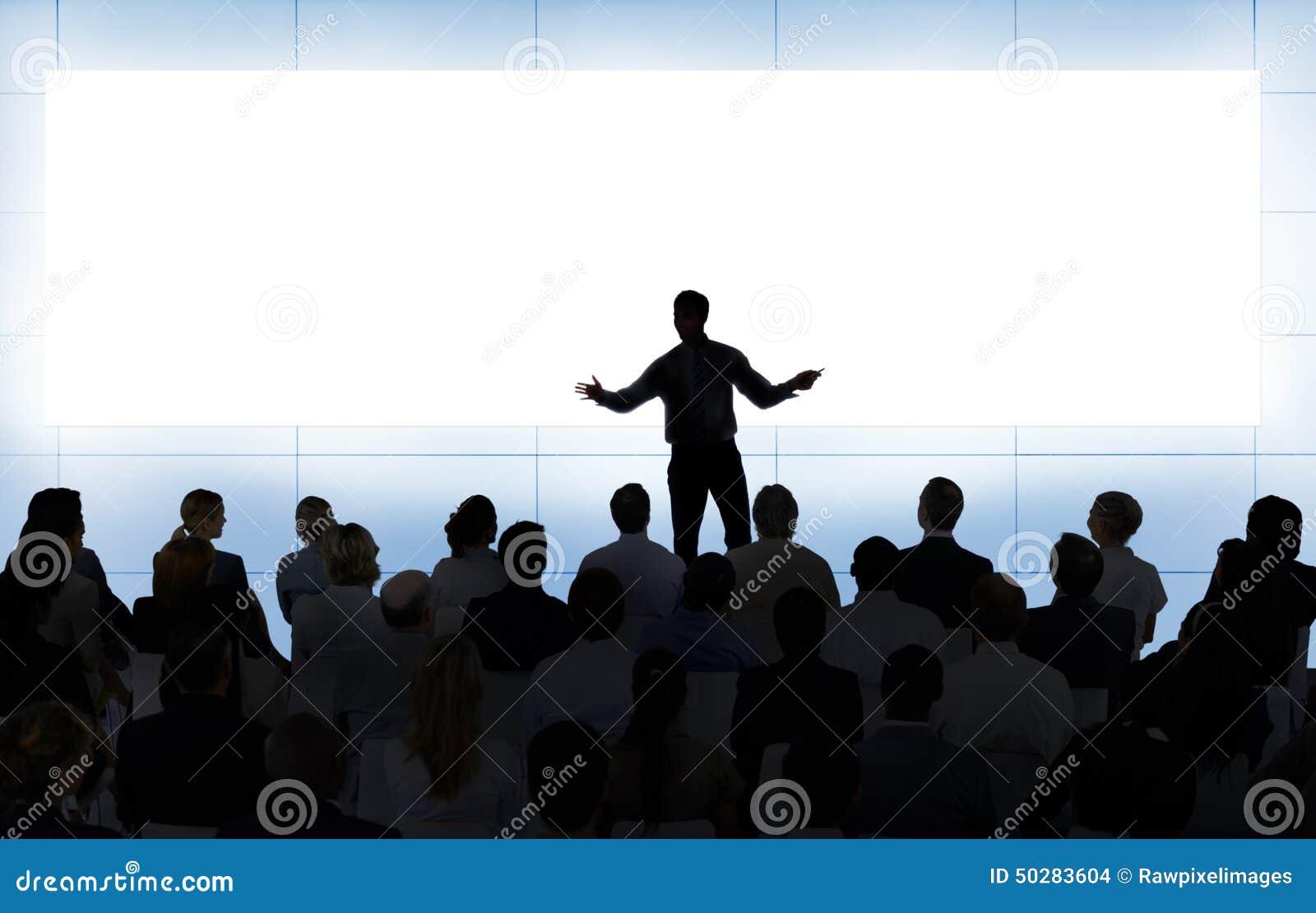 会议研讨会会议企业配合概念