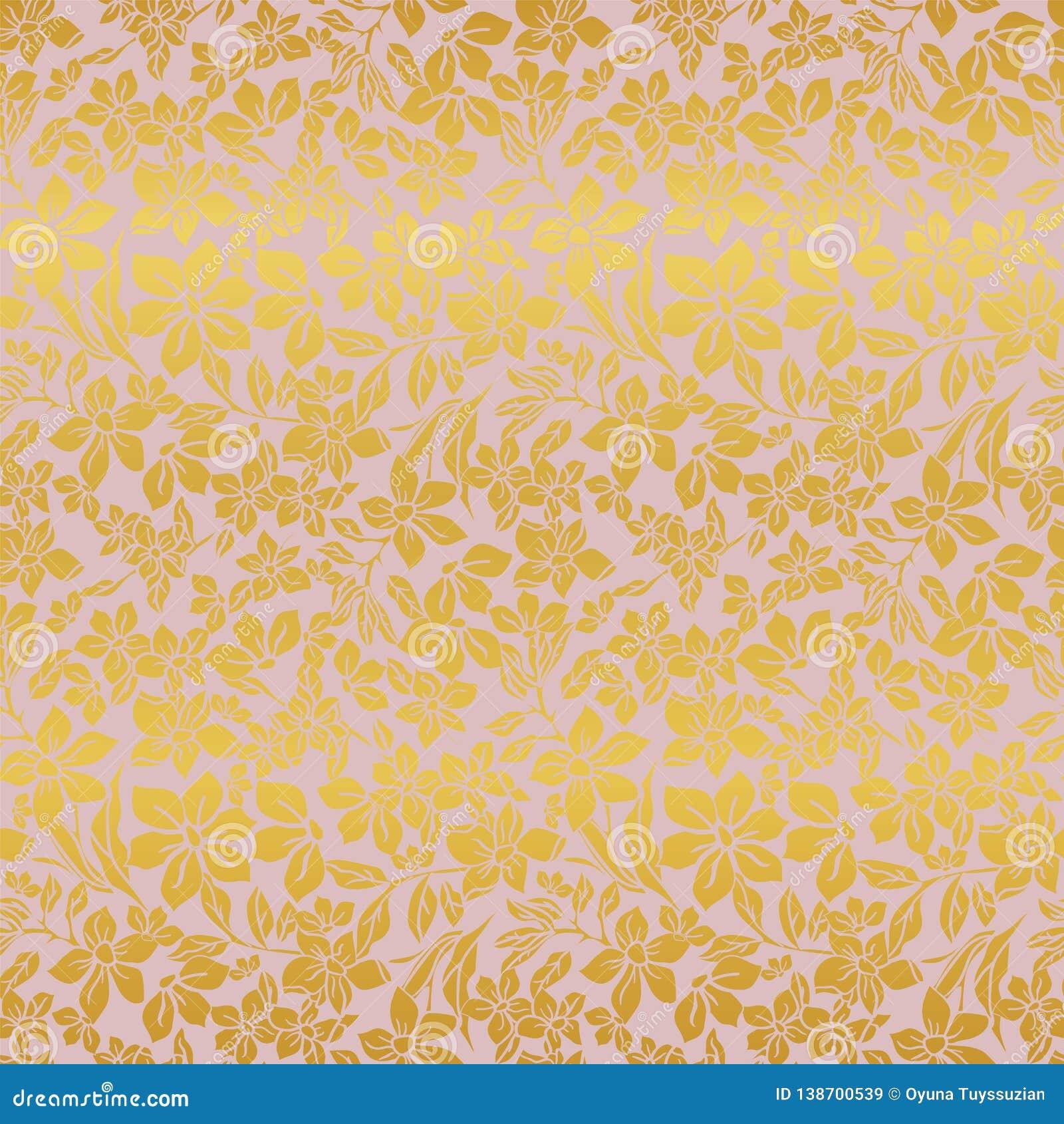 传染媒介例证,摘要,花卉纹理无缝的重复样式