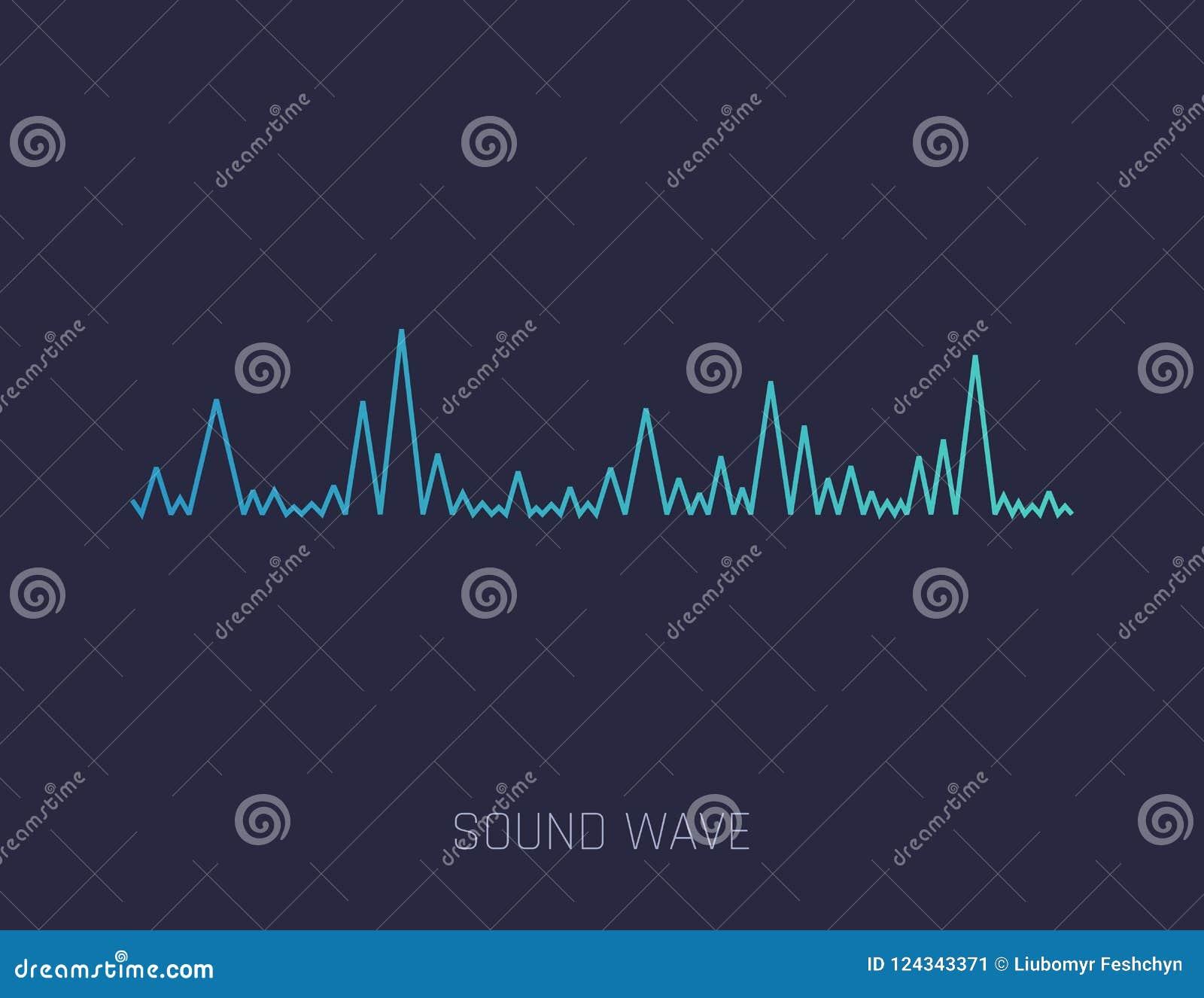 传染媒介声波 党的, DJ,客栈,俱乐部,迪斯科五颜六色的声波 音频调平器技术 向量