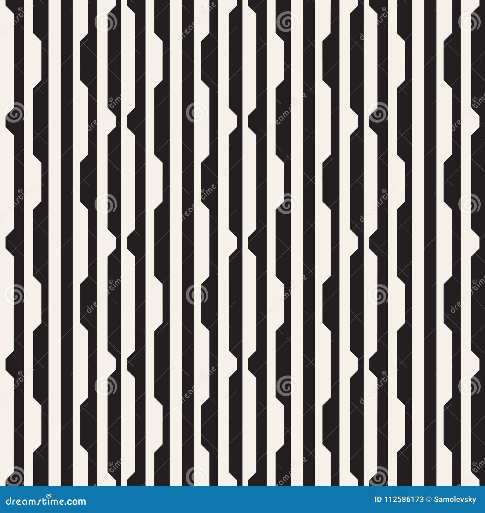 传染媒介无缝的黑白中间影调排行网格图形 抽象几何背景设计