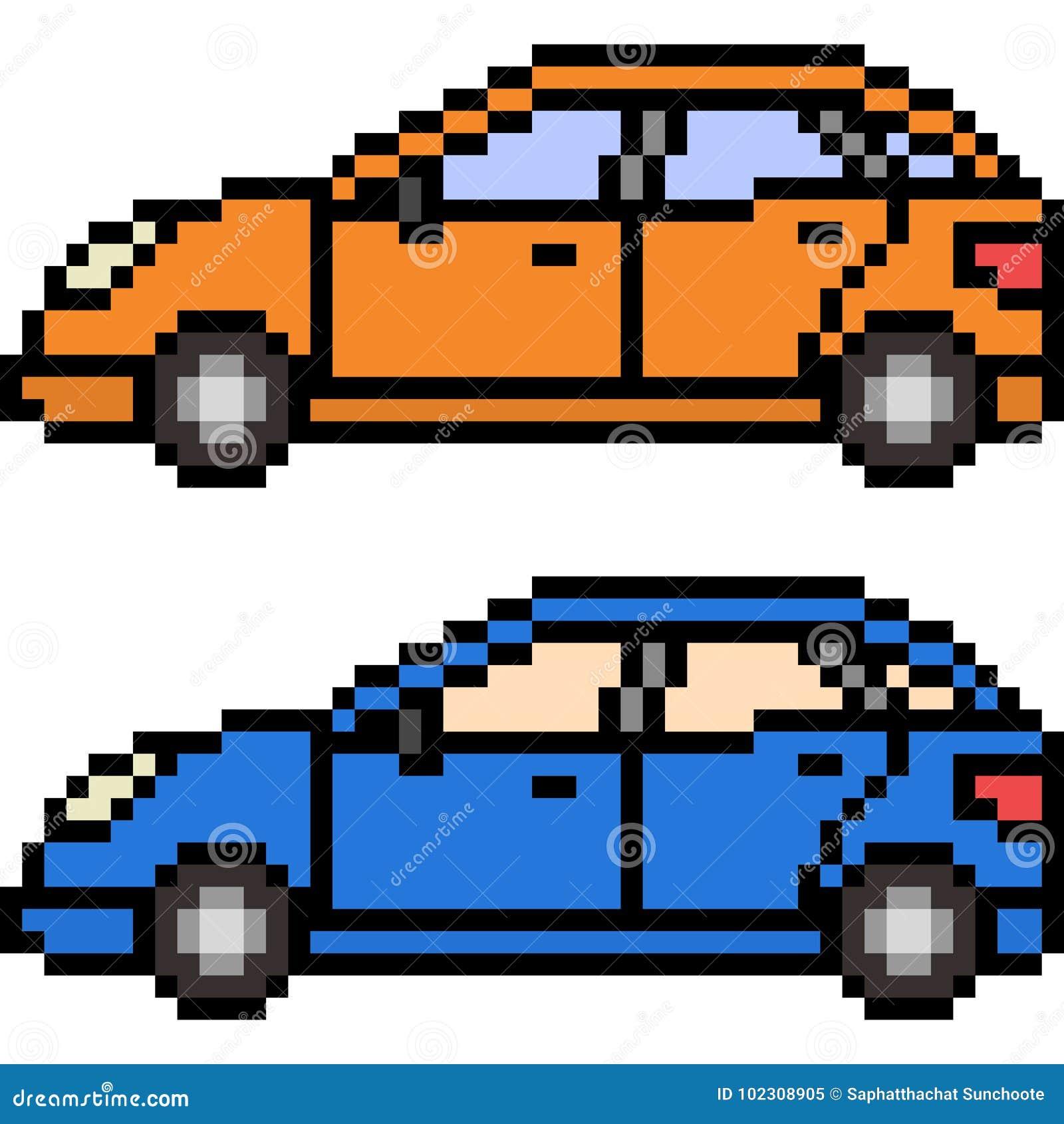 传染媒介映象点艺术汽车