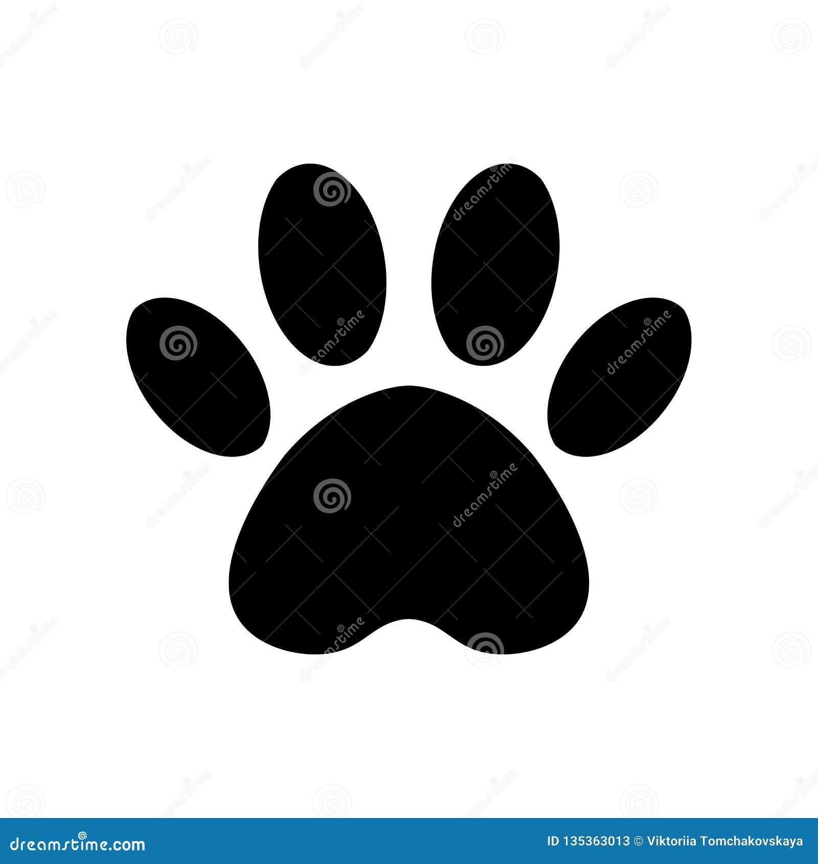 传染媒介爪子印刷品象 动物,似犬脚印的爪子 猫的踪影