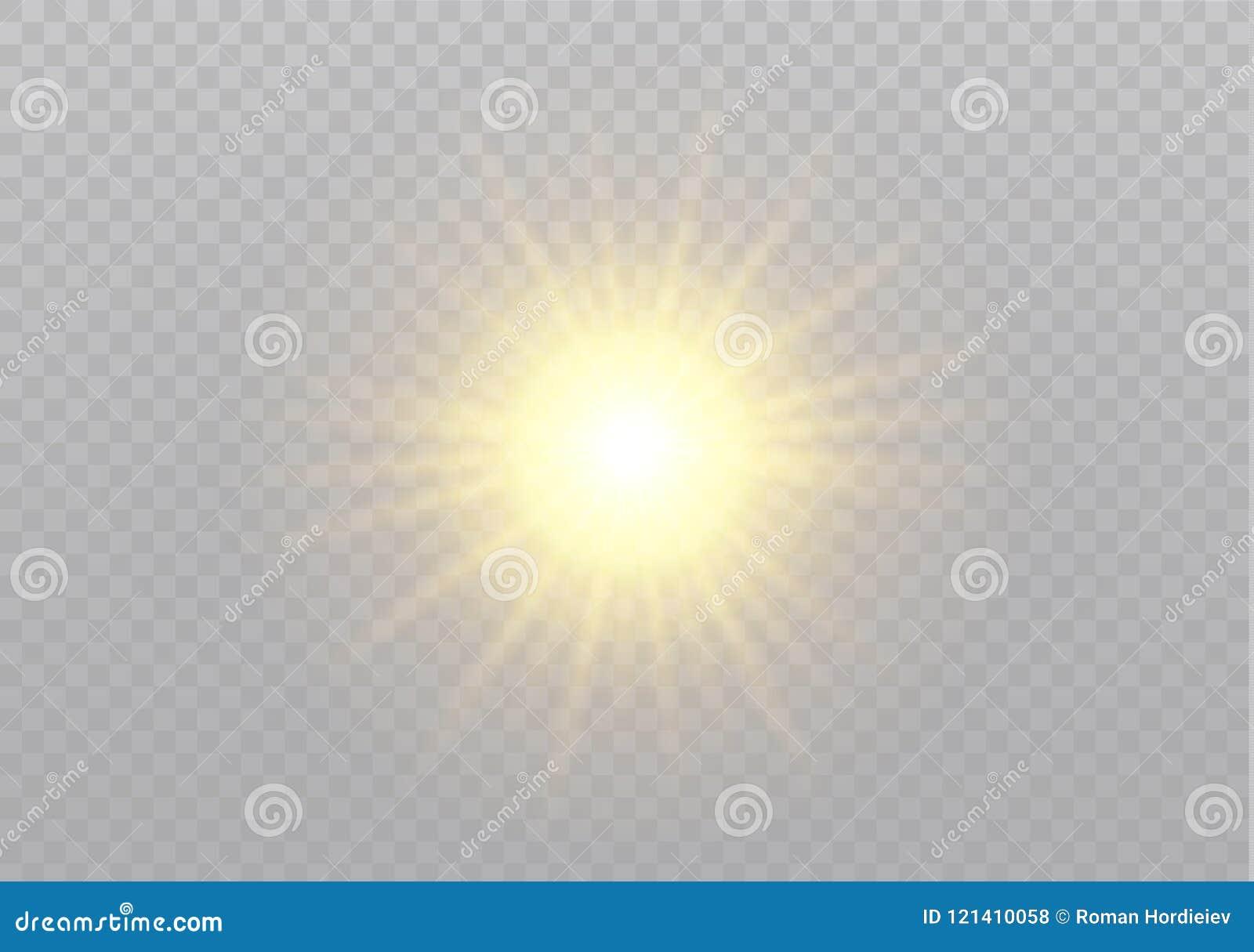 传染媒介透明阳光特别透镜火光光线影响 圣诞节抽象样式 闪耀的不可思议的微尘