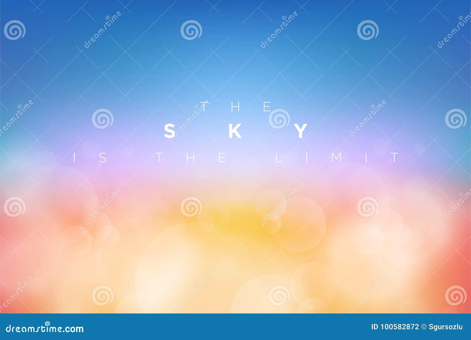 传染媒介cloudly干净的蓝天