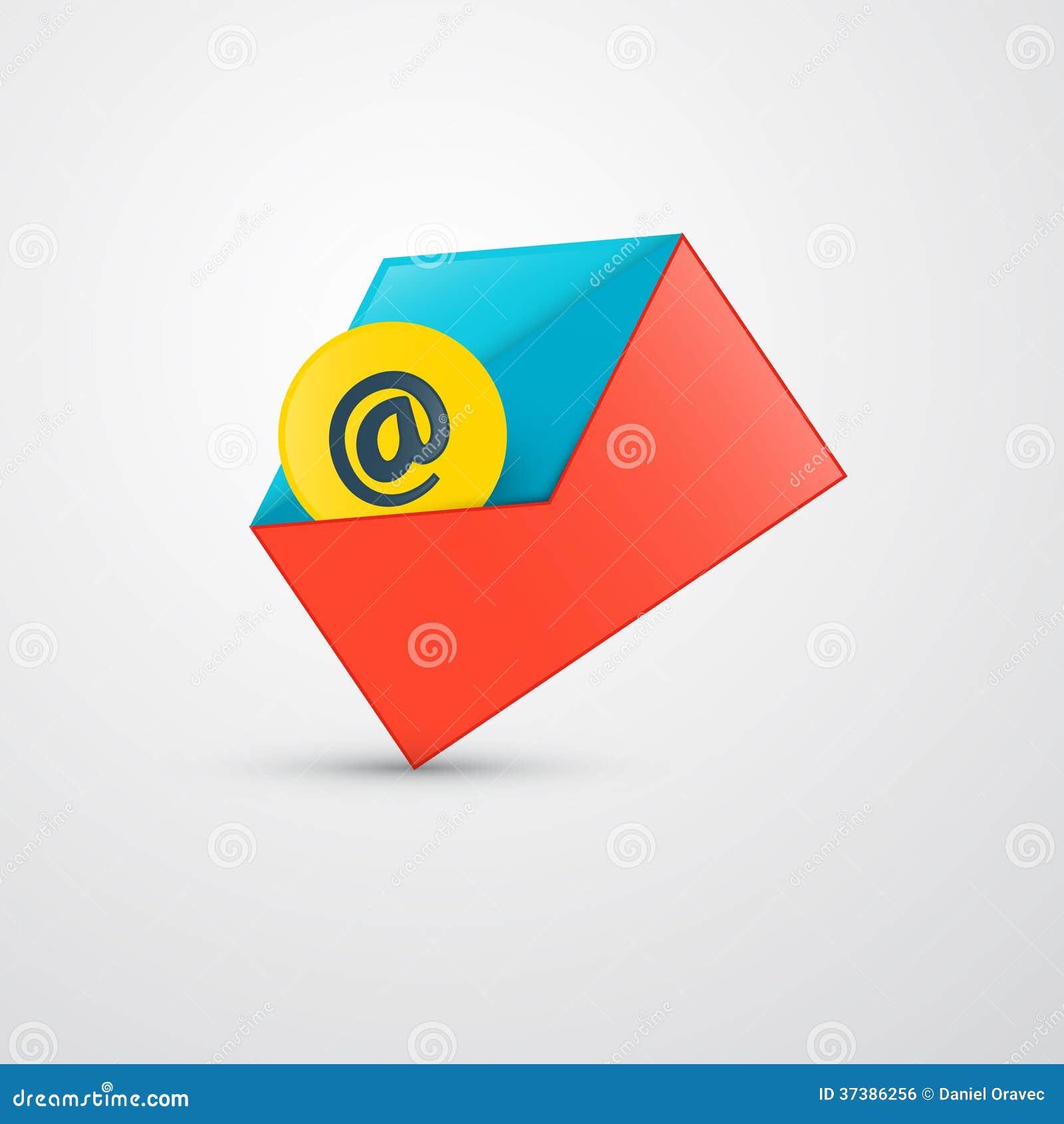 传染媒介信封-电子邮件象