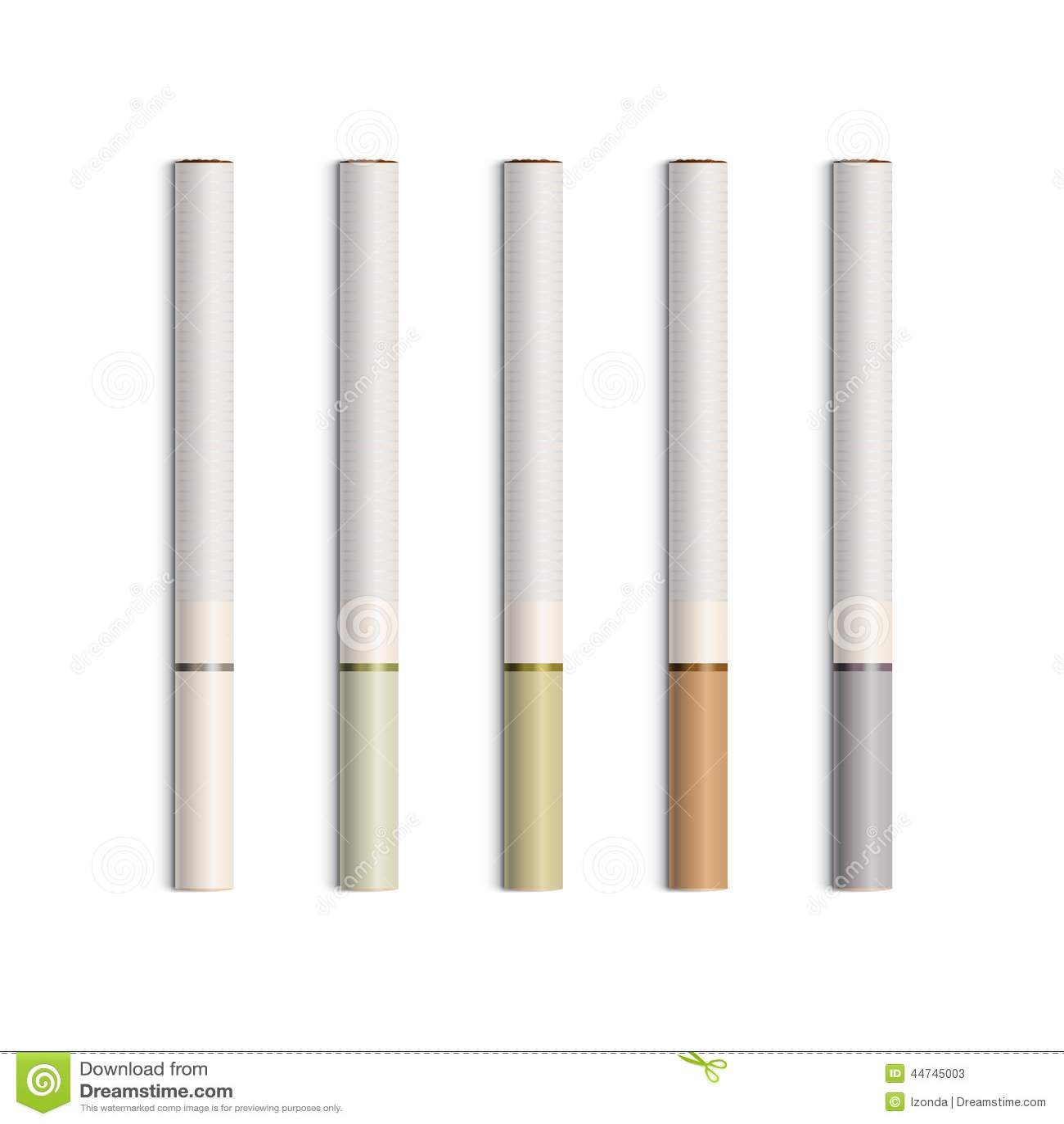传染媒介套与滤色器的香烟
