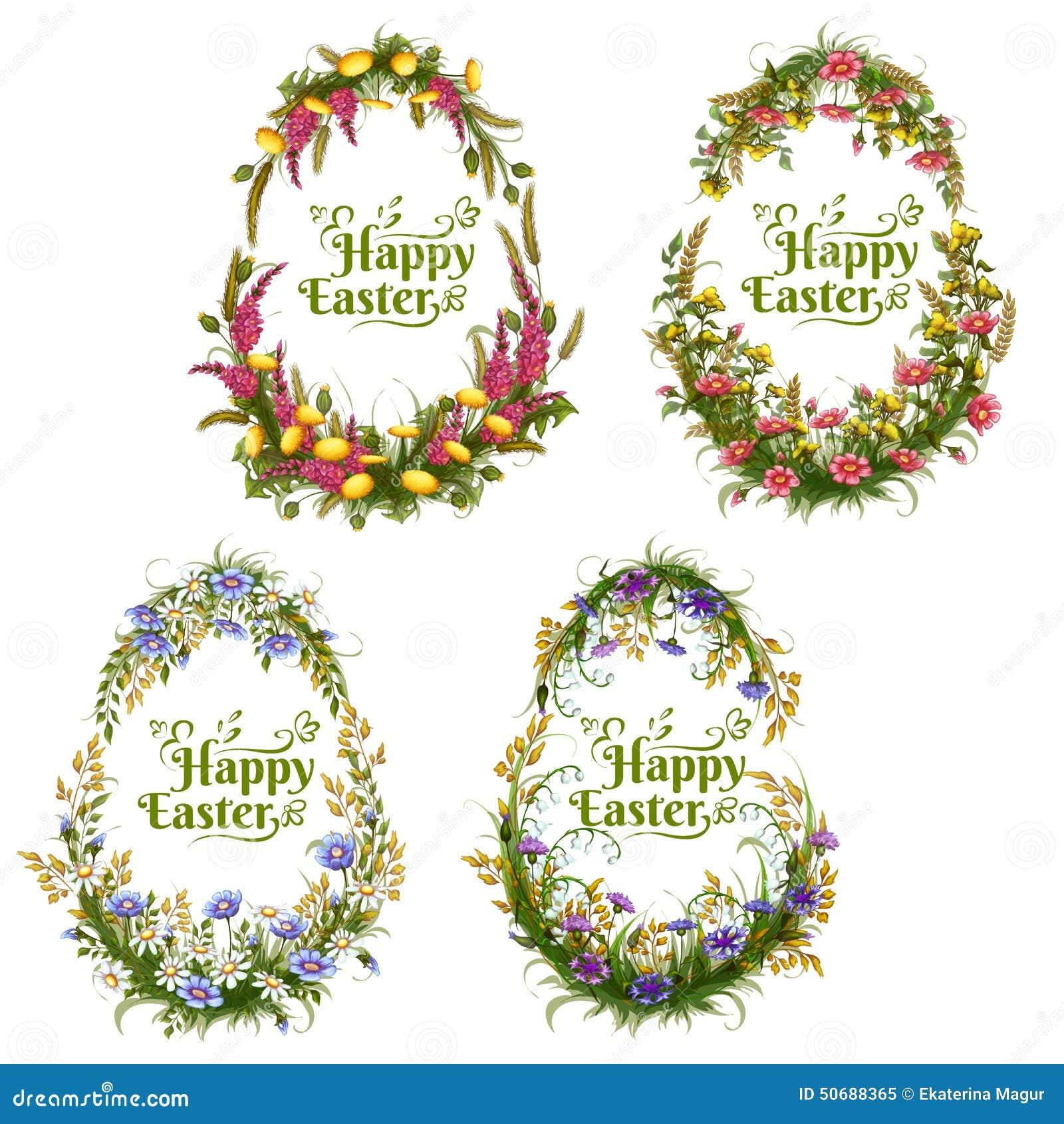 Download 传染媒介套花卉颜色为复活节怂恿 向量例证. 插画 包括有 绿色, 凹道, 愉快, 问候, 装饰, 花束, 动画片 - 50688365