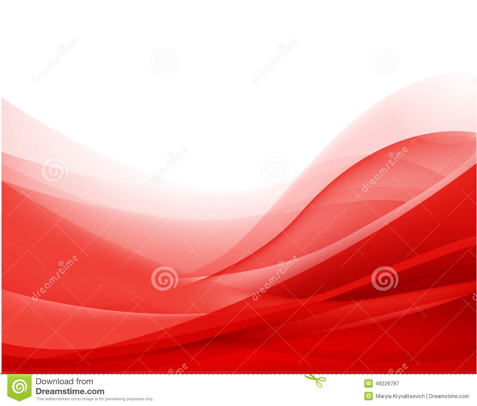 传染媒介抽象红色波浪背景,墙纸