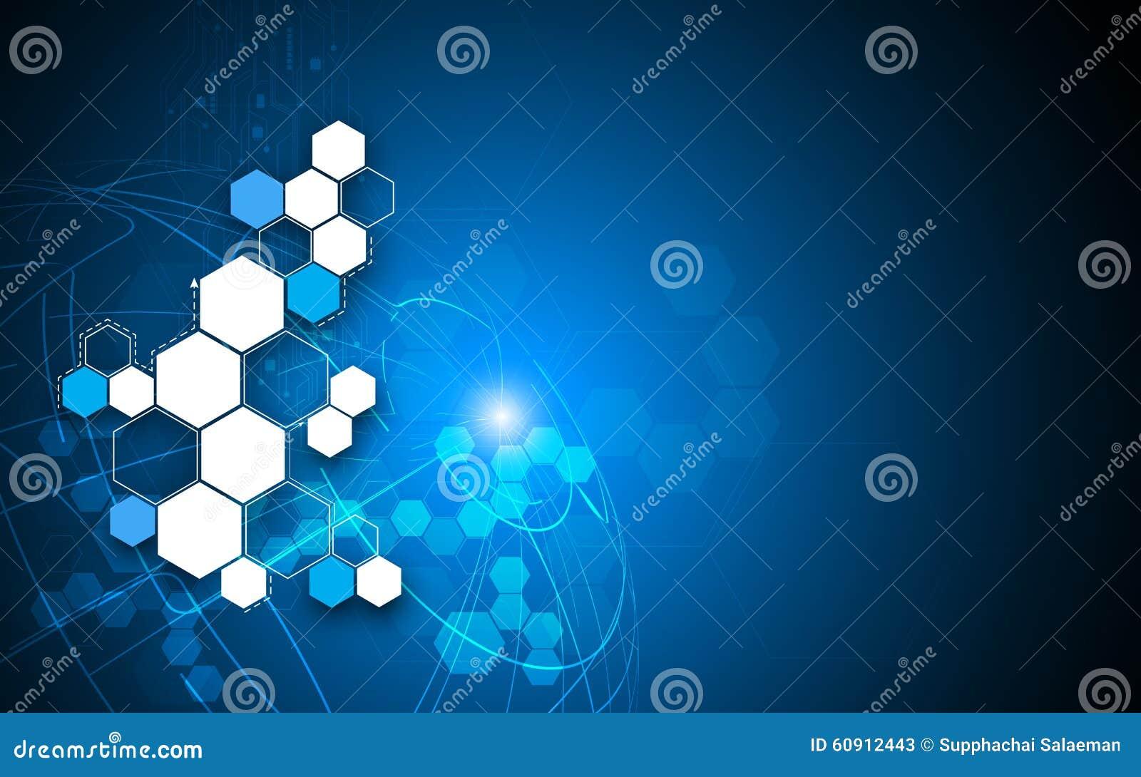 传染媒介抽象背景创新概念科学幻想小说设计 库存例证图片